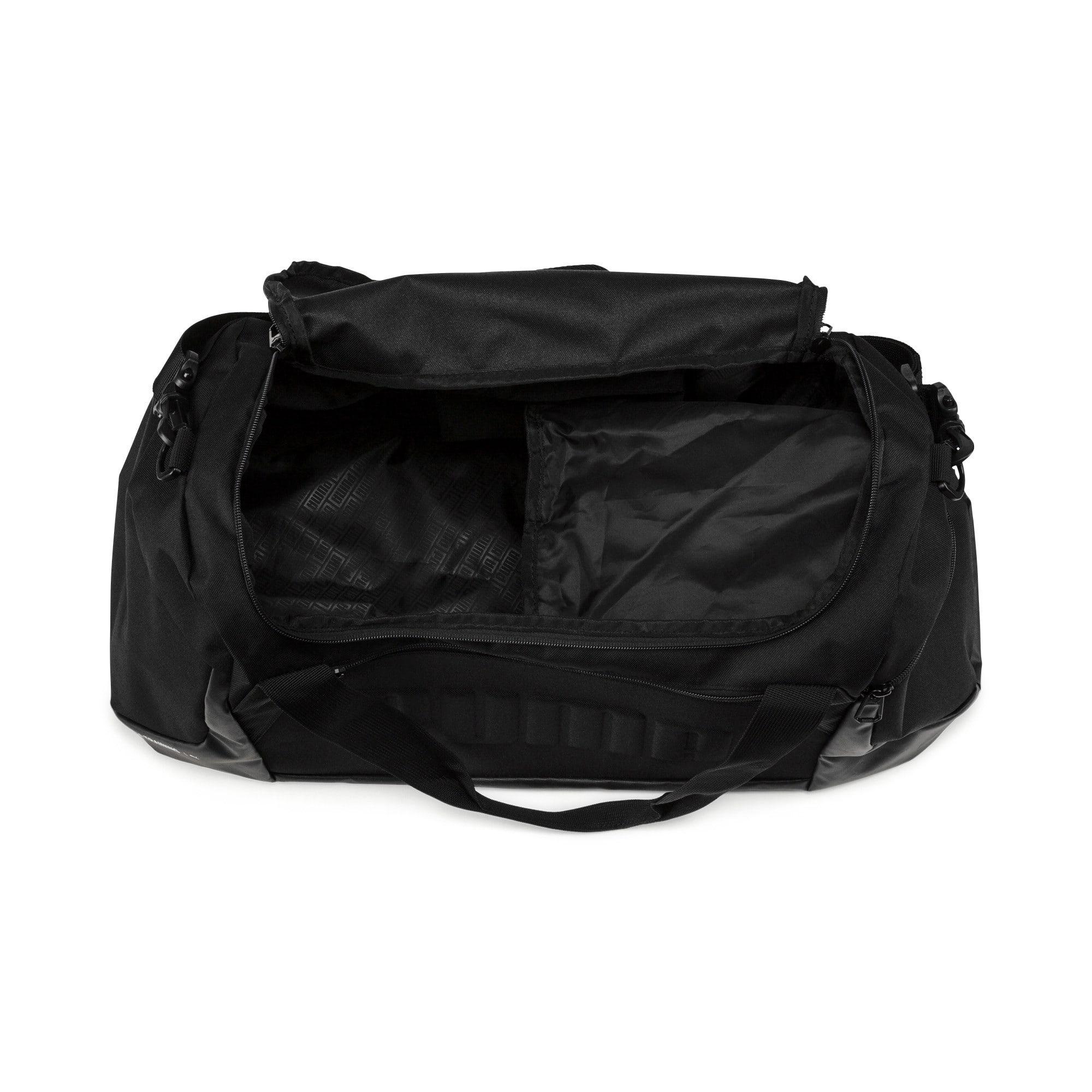 Thumbnail 4 of GYM Medium Duffle Bag, Puma Black, medium