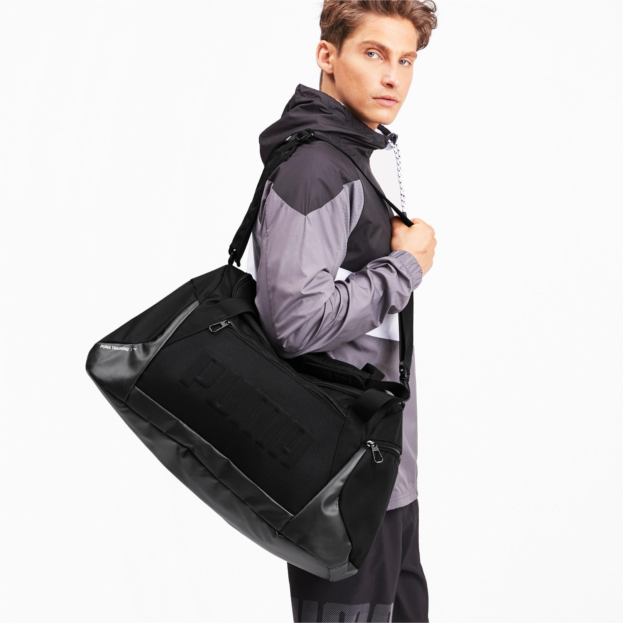 Thumbnail 2 of GYM Medium Duffle Bag, Puma Black, medium