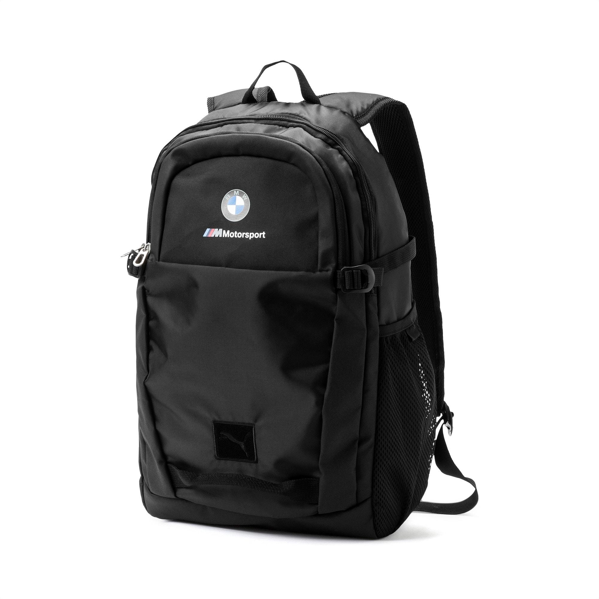 BMW M Motorsport Backpack, Puma Black, large-SEA
