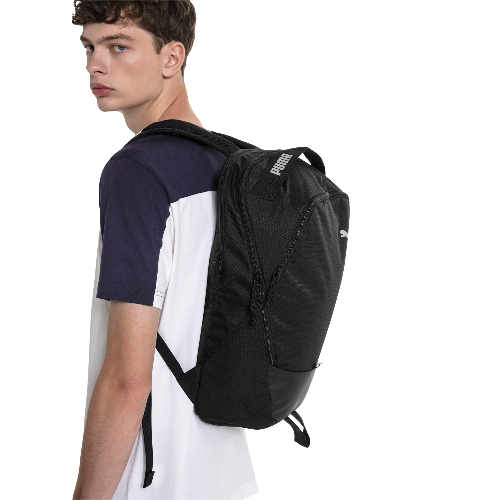 Thumbnail 4 of PUMA X Backpack, Puma Black, medium