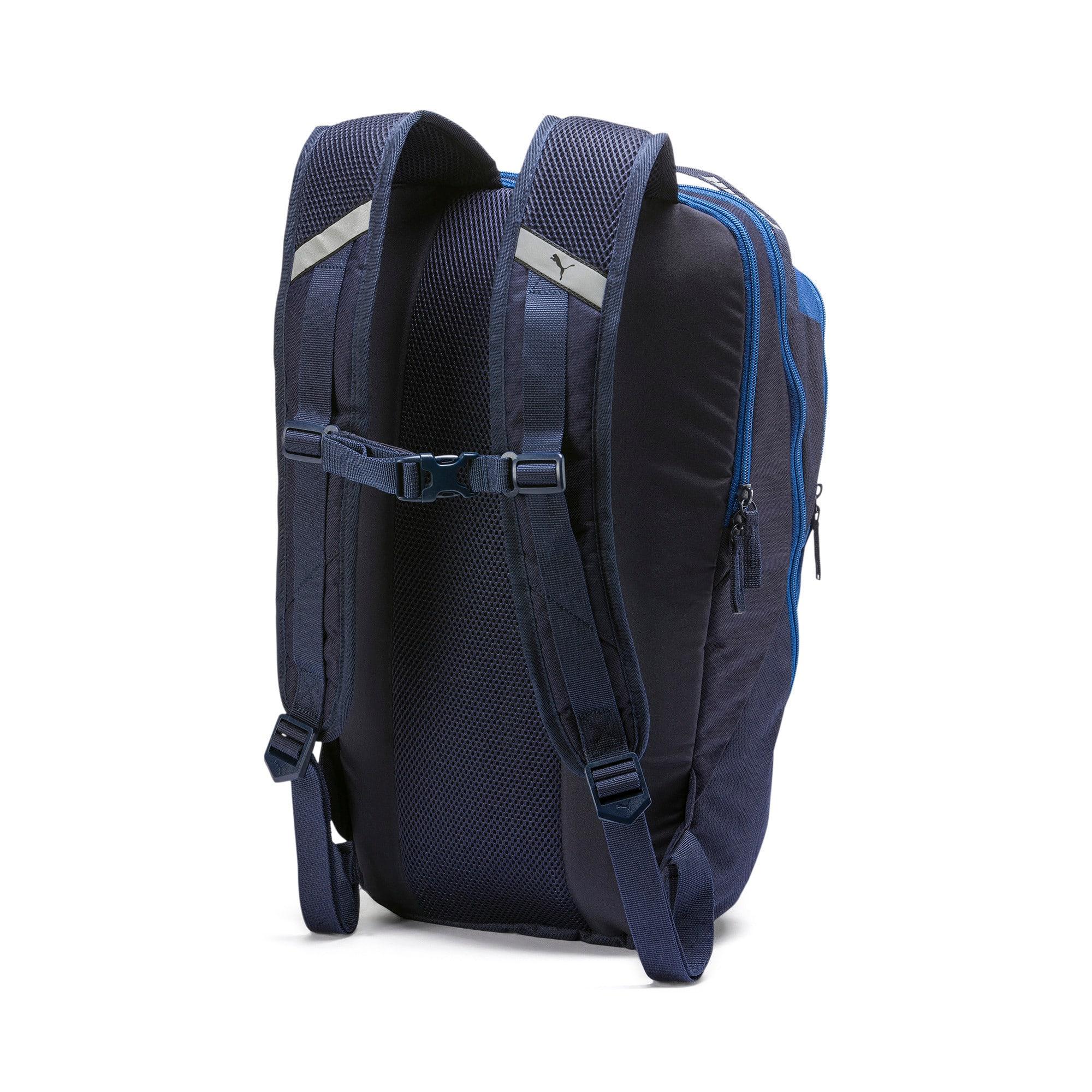 Thumbnail 2 of PUMA X Backpack, Peacoat-Galaxy Blue, medium