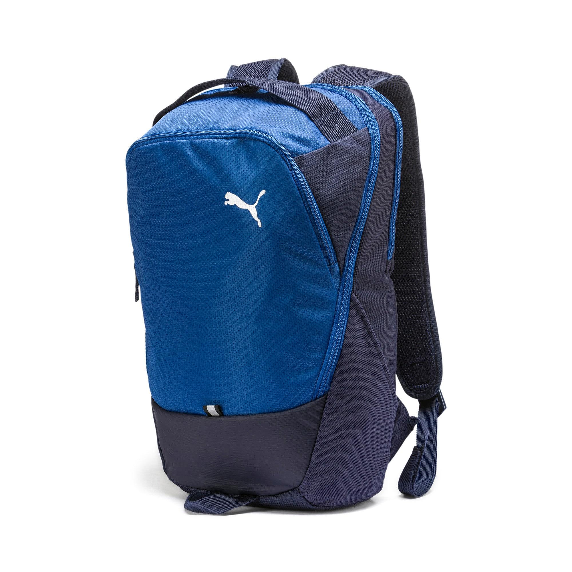 Thumbnail 1 of PUMA X Backpack, Peacoat-Galaxy Blue, medium