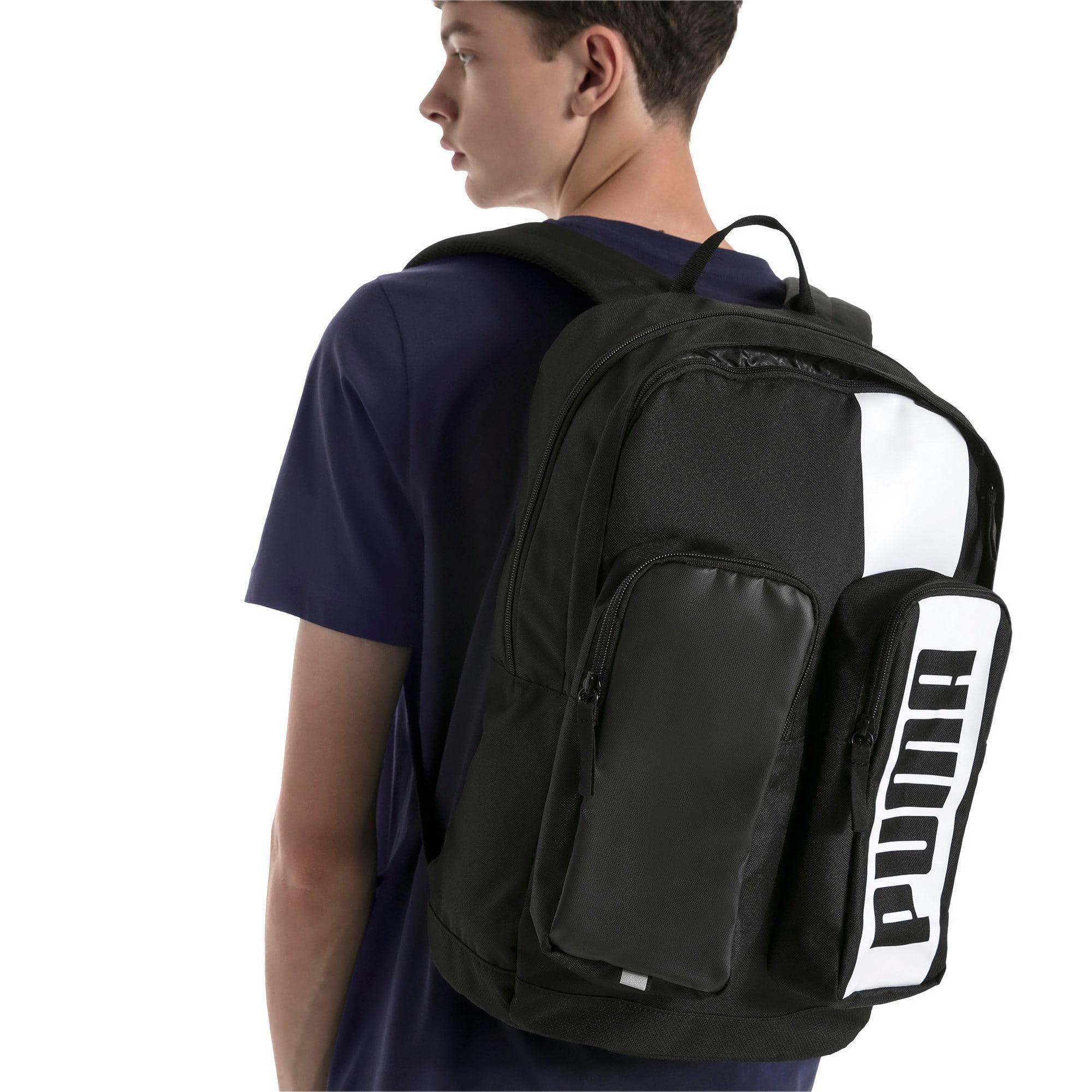 Thumbnail 2 of Deck Backpack II, Puma Black, medium-IND