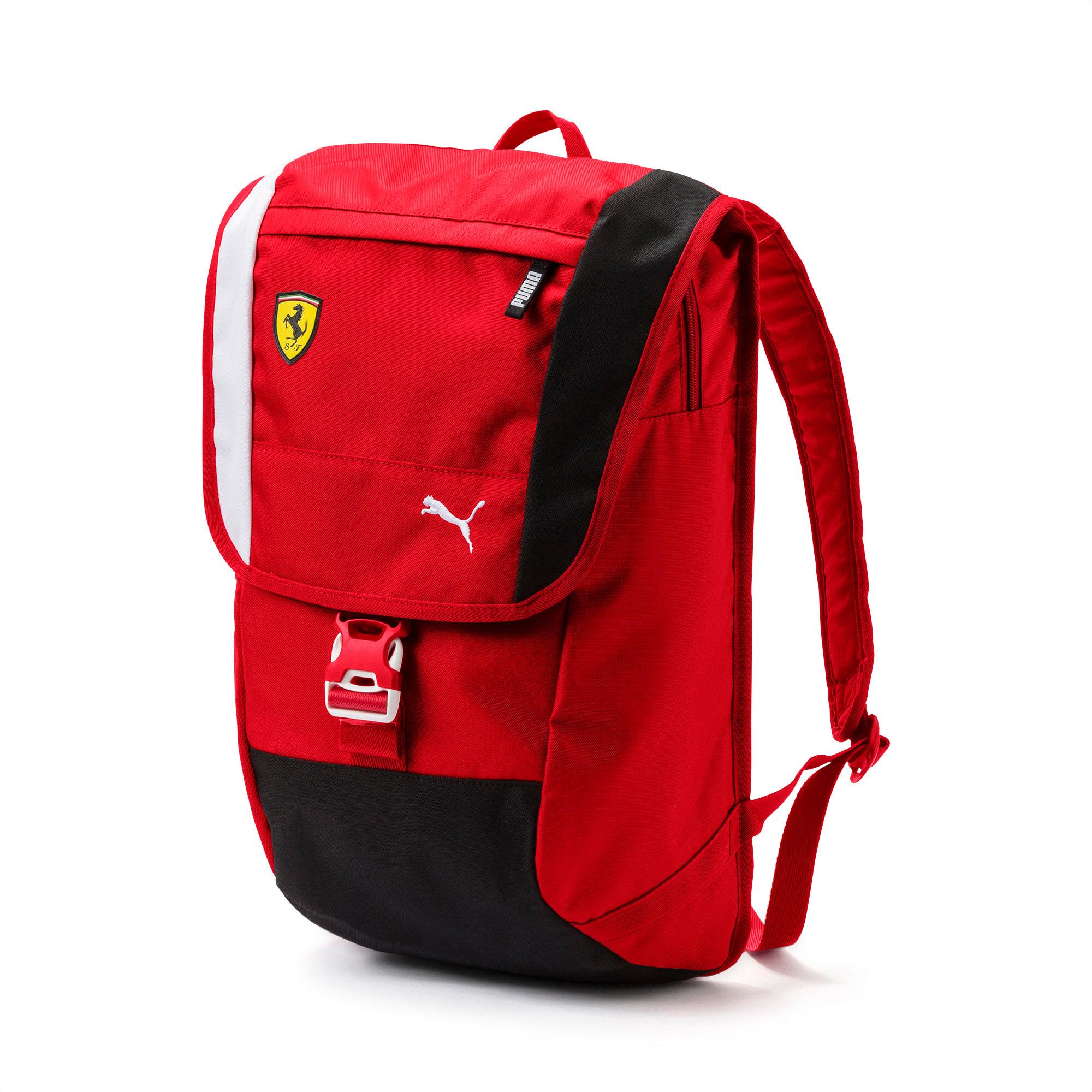 Ferrari Fanwear Backpack, Rosso Corsa, large-SEA
