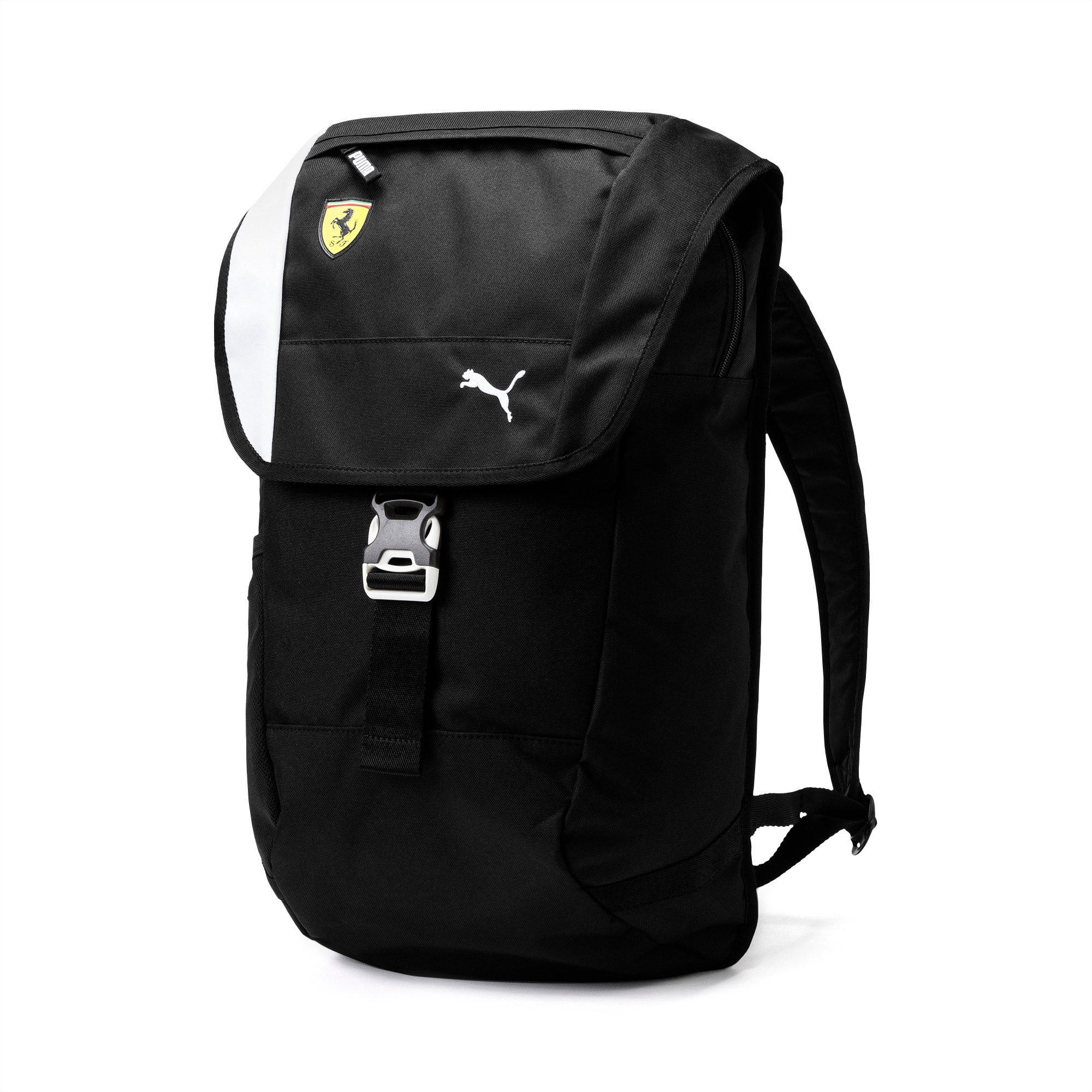 Ferrari Fanwear Backpack, Puma Black, large-SEA