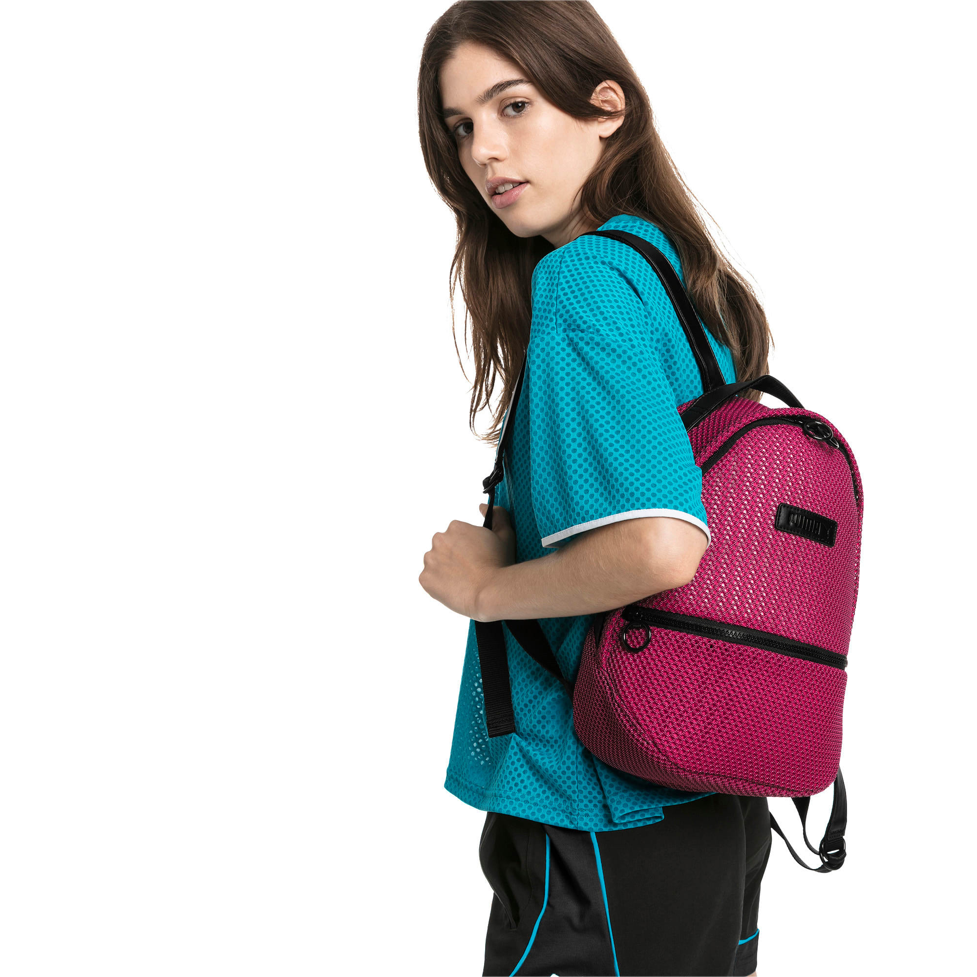 Thumbnail 2 of Prime Time Archive Festival Backpack, Fuchsia Purple-Puma Black, medium