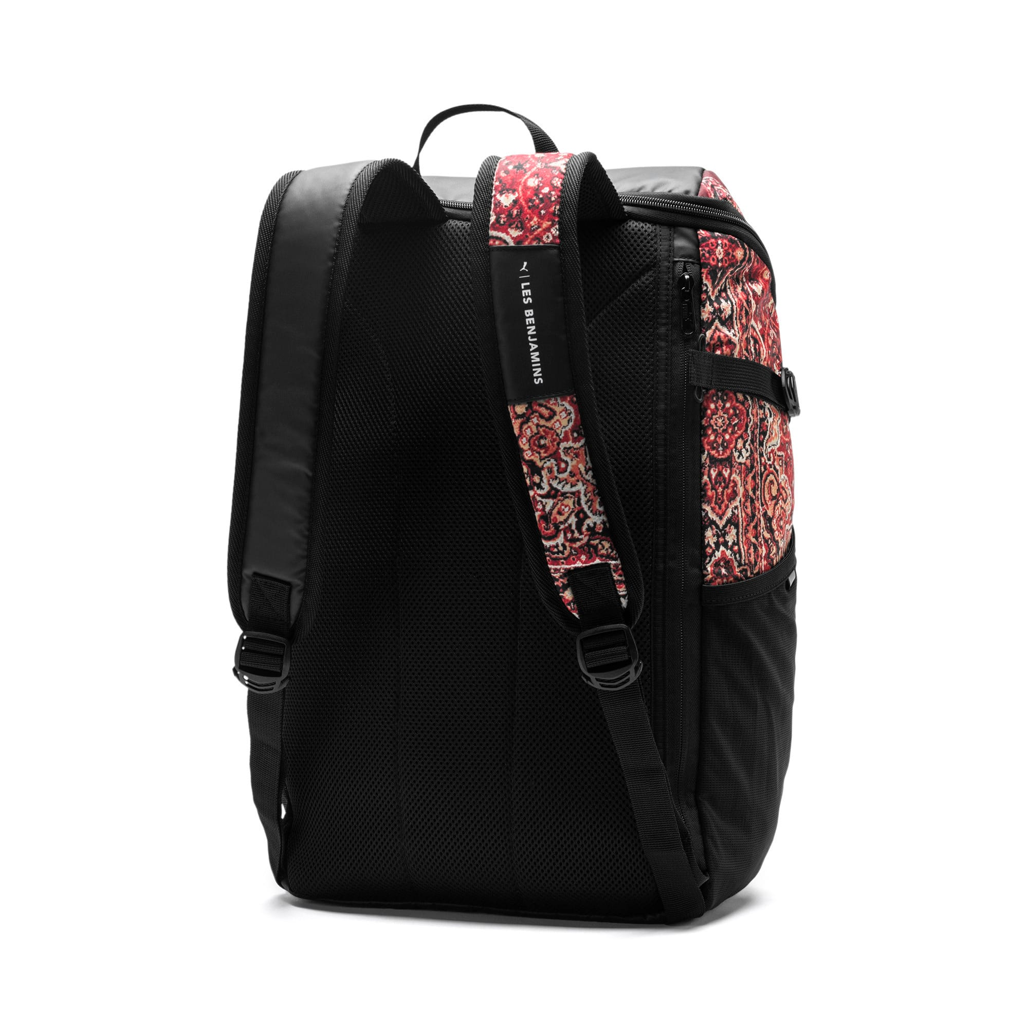 Thumbnail 5 of PUMA x LES BENJAMINS Backpack, Puma Black-AOP, medium
