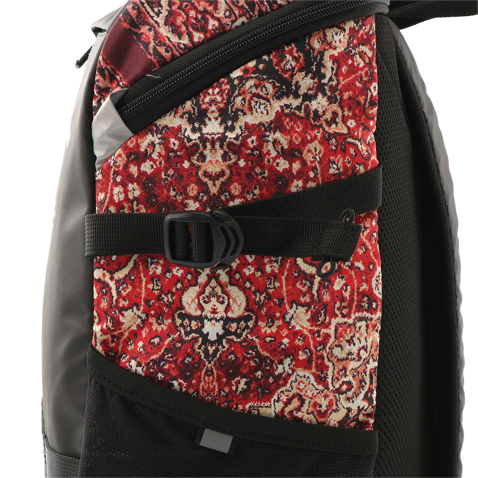 Thumbnail 7 of PUMA x LES BENJAMINS Backpack, Puma Black-AOP, medium