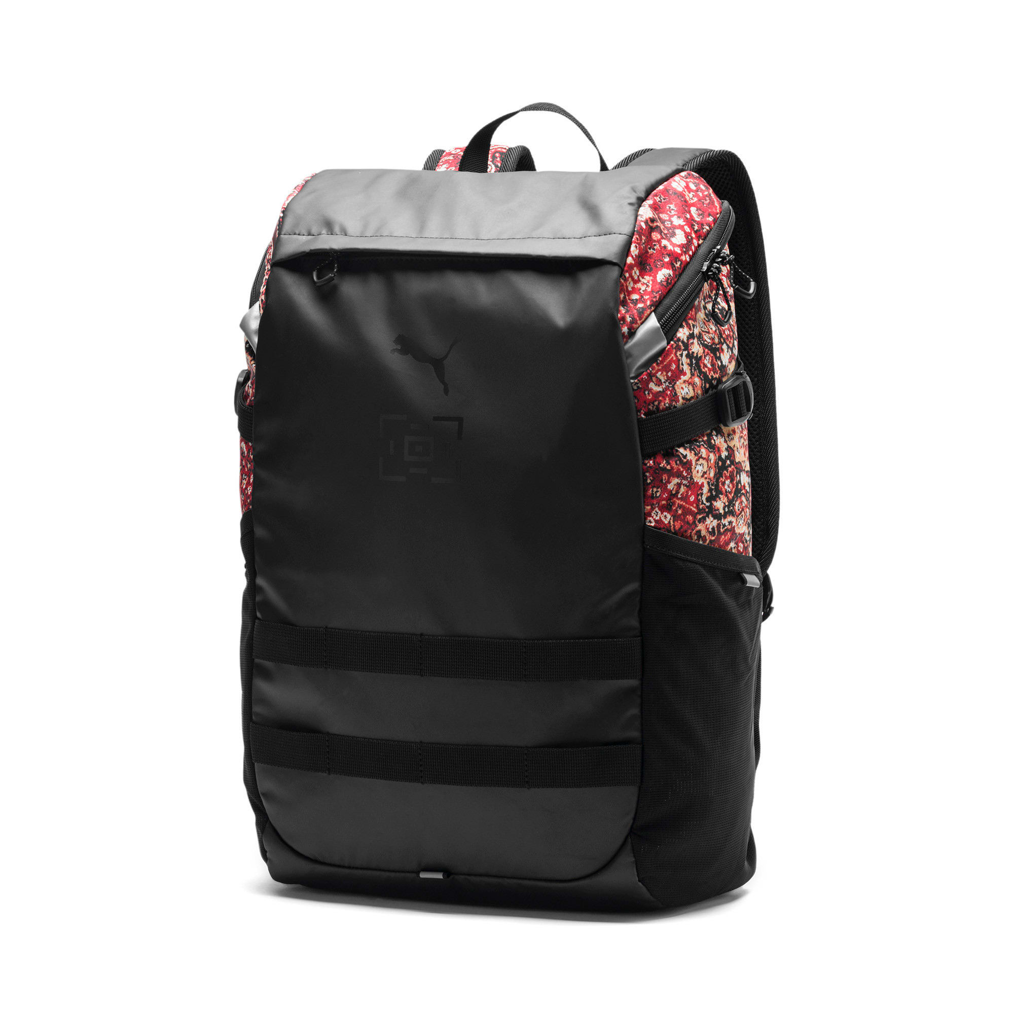 Thumbnail 1 of PUMA x LES BENJAMINS Backpack, Puma Black-AOP, medium