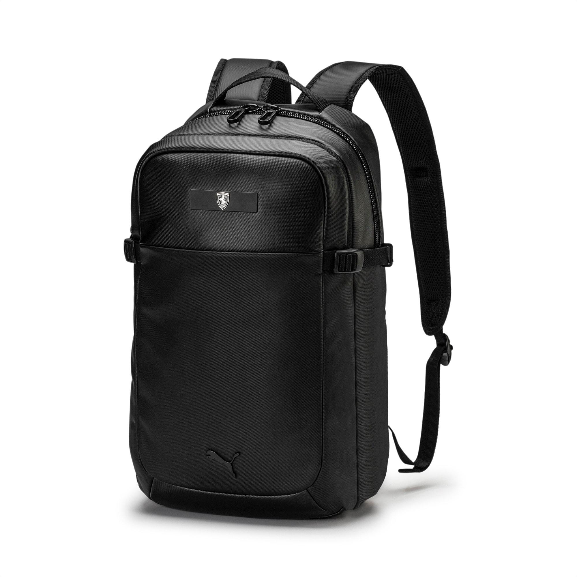 Ferrari Lifestyle Backpack, Puma Black, large-SEA
