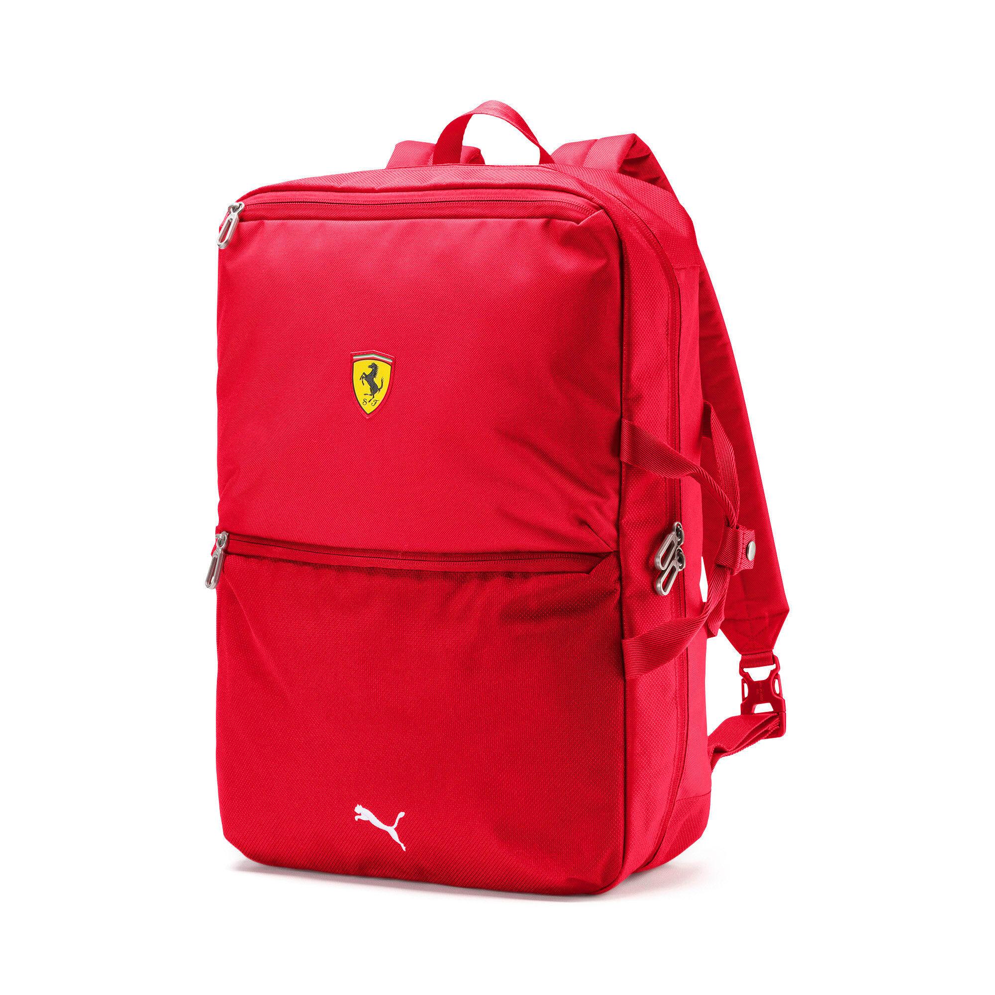 Thumbnail 1 of Ferrari Replica Backpack, Rosso Corsa, medium