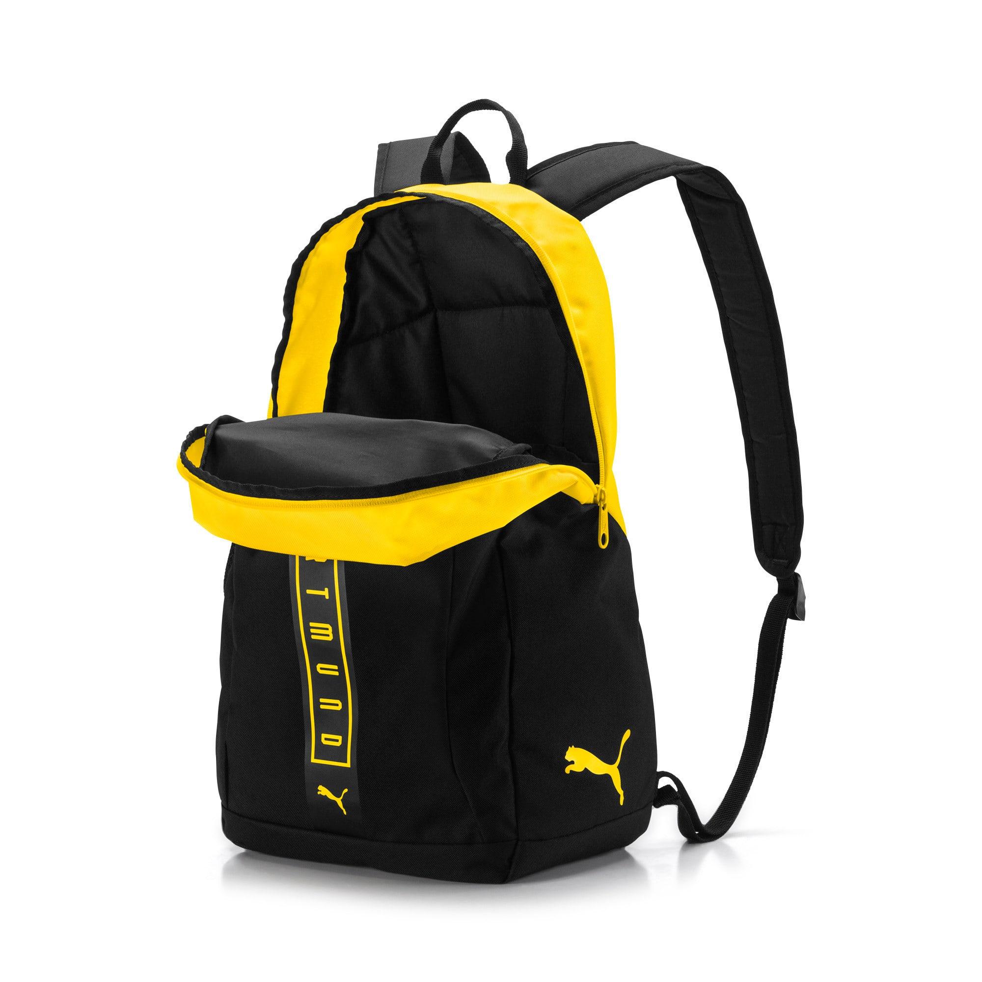 Thumbnail 3 of BVB Fan Backpack, Puma Black-Cyber Yellow, medium