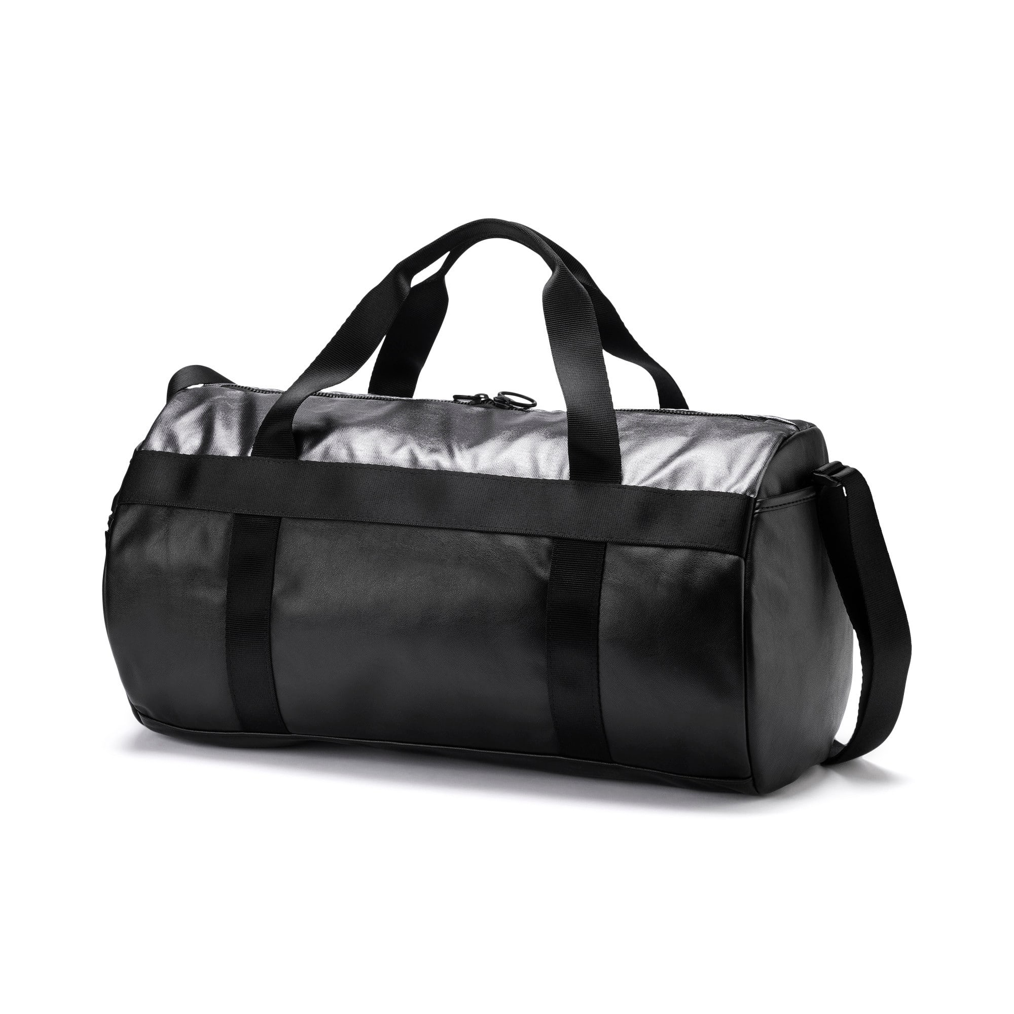 Thumbnail 2 of SG x PUMA Style Barrel Bag, Puma Black, medium
