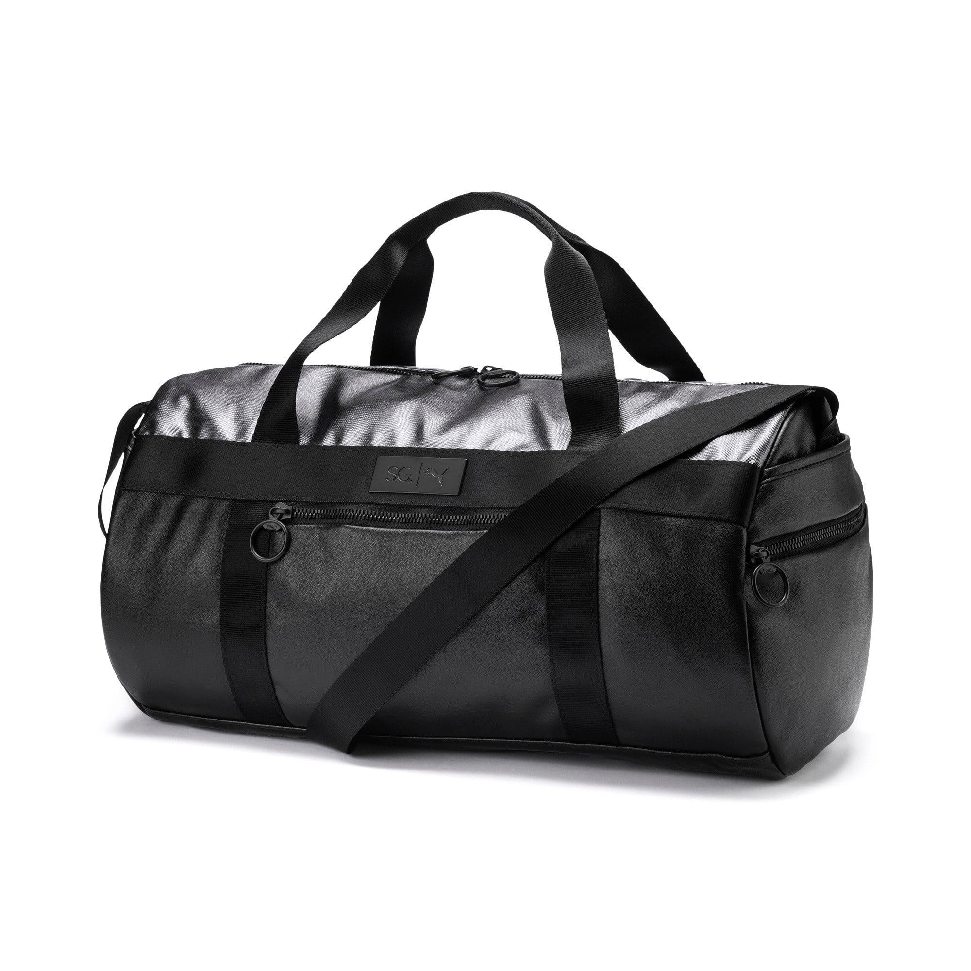 Thumbnail 1 of SG x PUMA Style Barrel Bag, Puma Black, medium