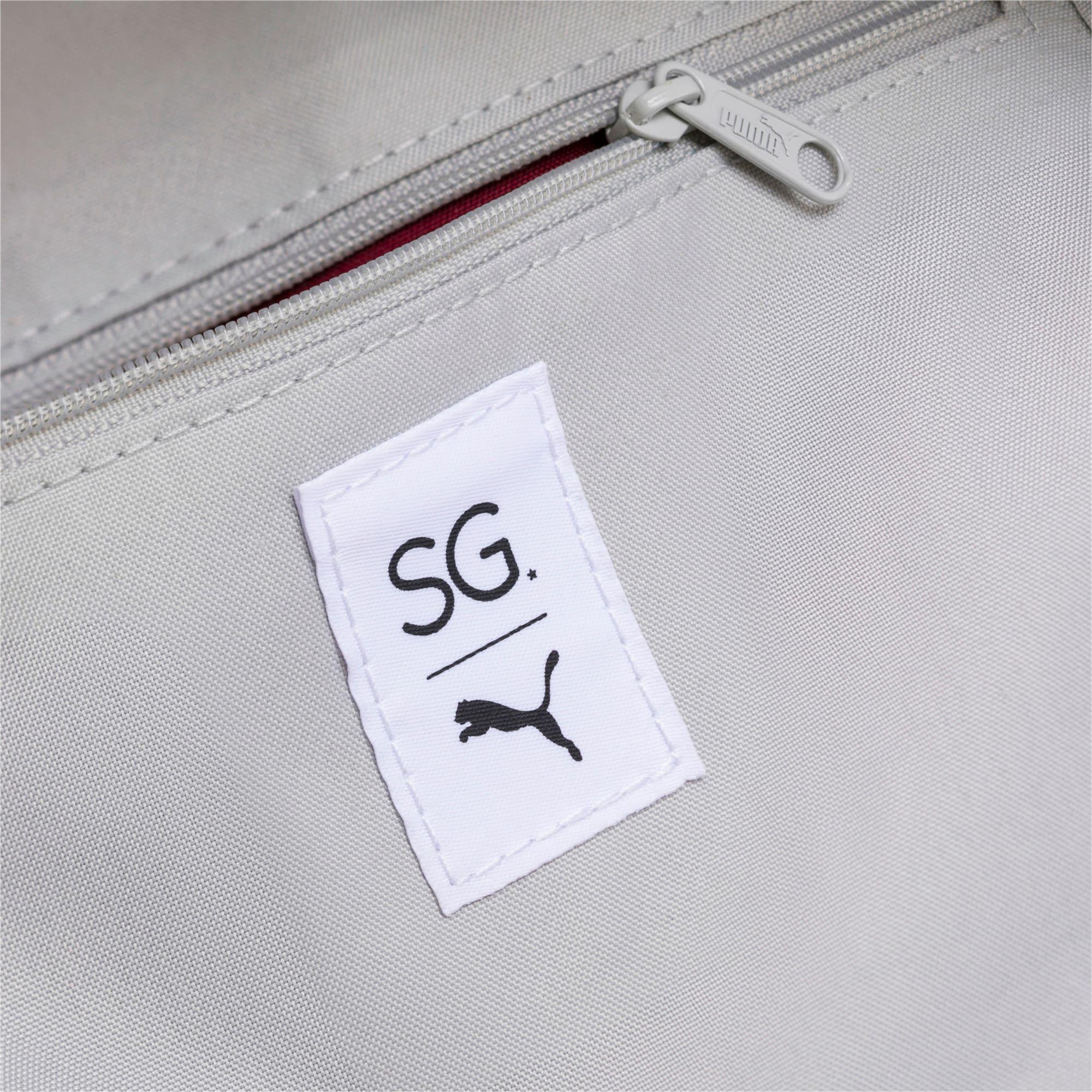 Thumbnail 4 of SG x PUMA Style Backpack, Puma White, medium