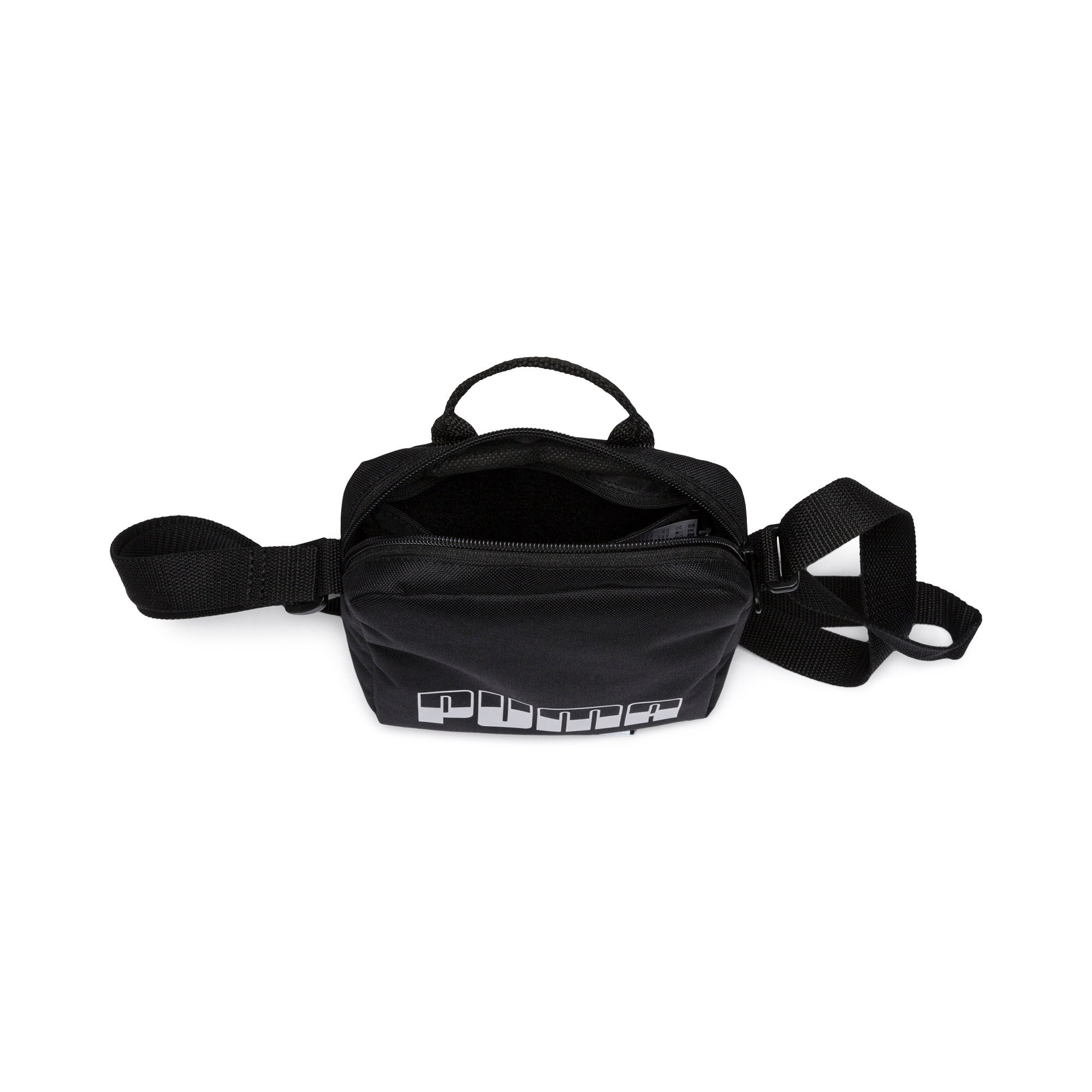 Thumbnail 3 of Plus Portable II Shoulder Bag, Puma Black, medium-IND