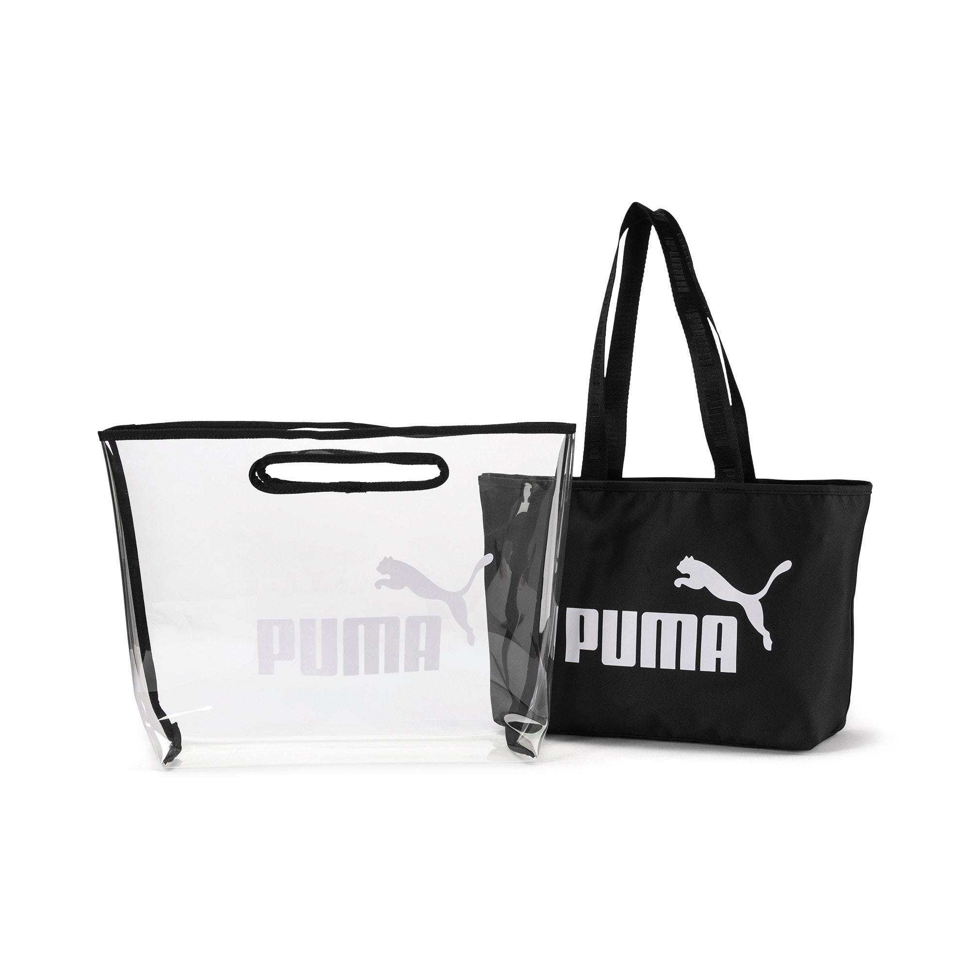 Thumbnail 3 of Women's Twin Shopper, Puma Black, medium