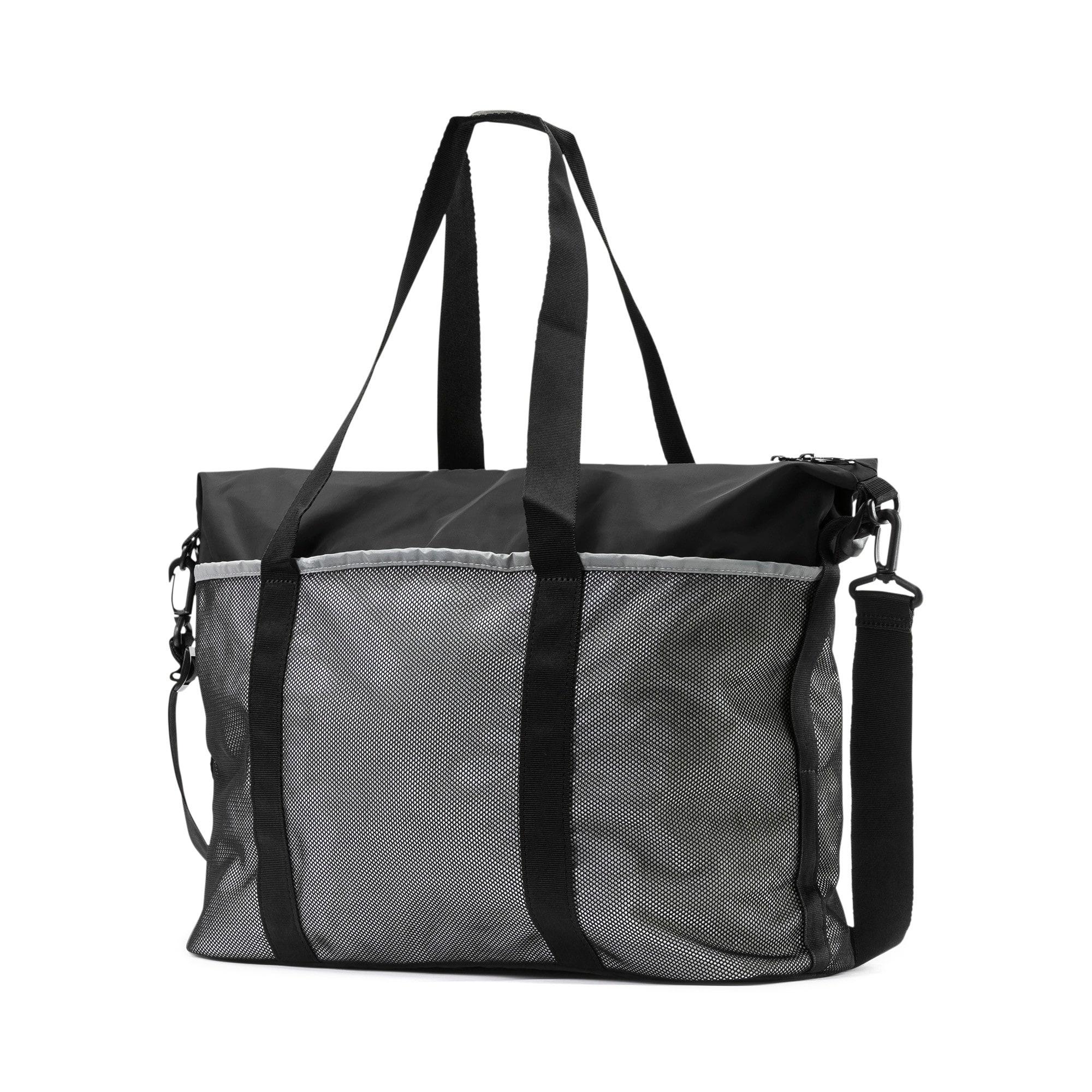 Thumbnail 3 of PUMA x SELENA GOMEZ Women's Sport Duffle Bag, Puma Black, medium