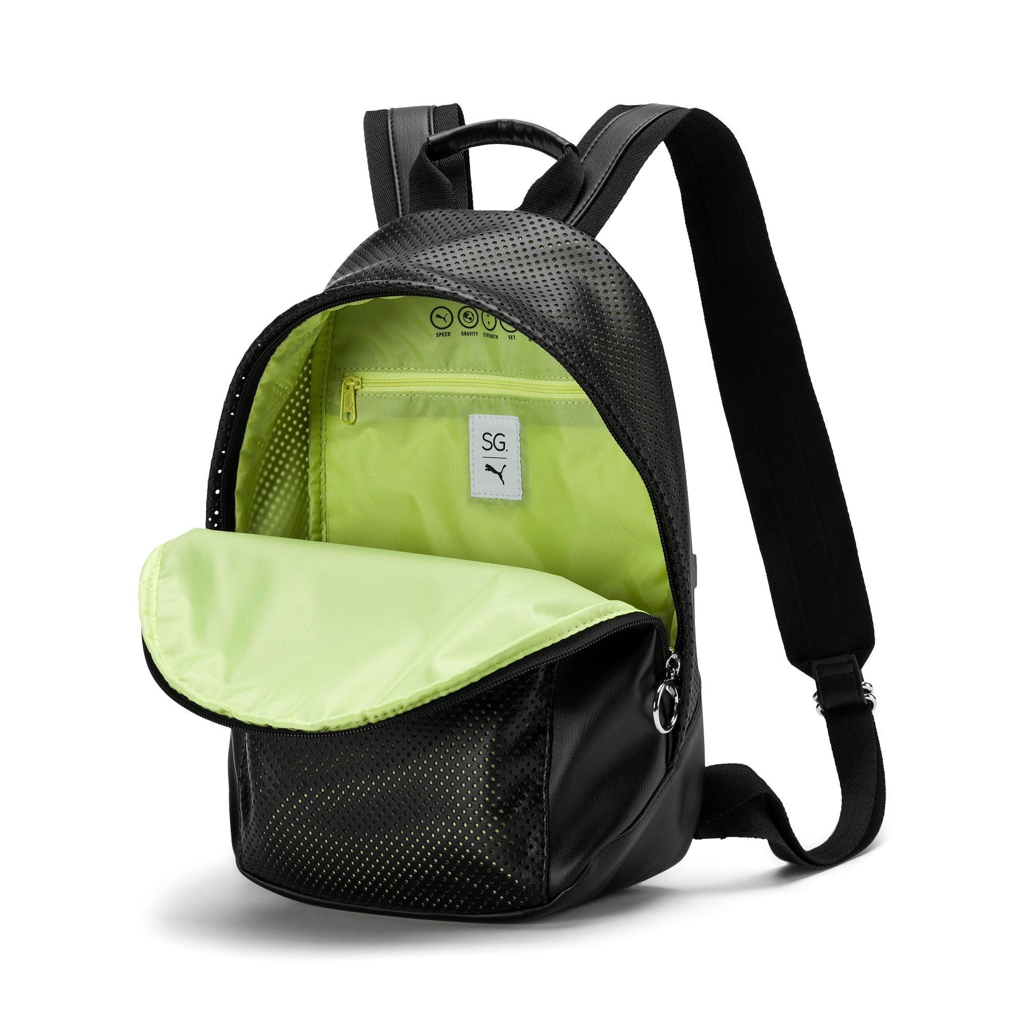 Thumbnail 4 of PUMA x SELENA GOMEZ Style Women's Backpack, Puma Black, medium