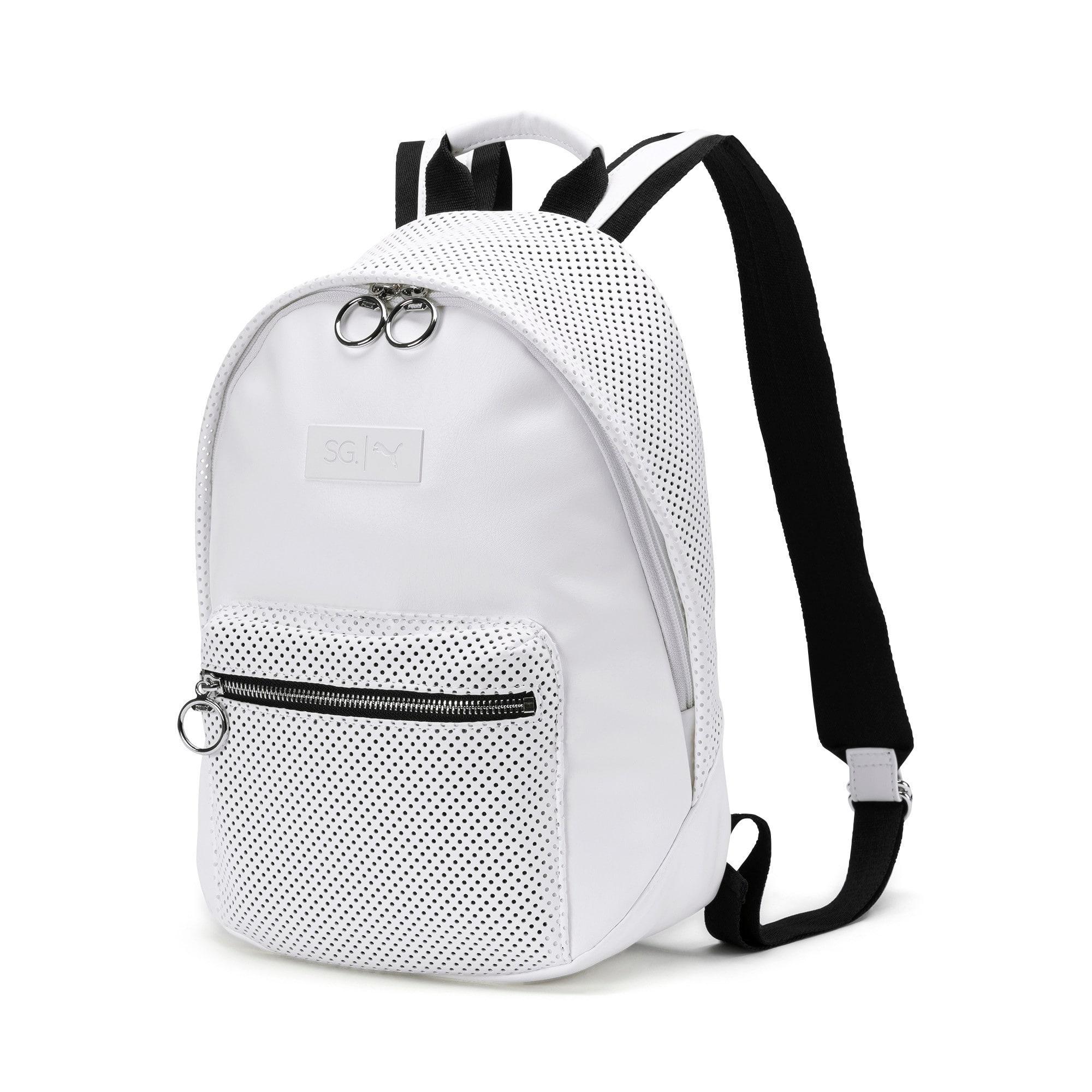 Thumbnail 1 of PUMA x SELENA GOMEZ Style Women's Backpack, Puma White, medium