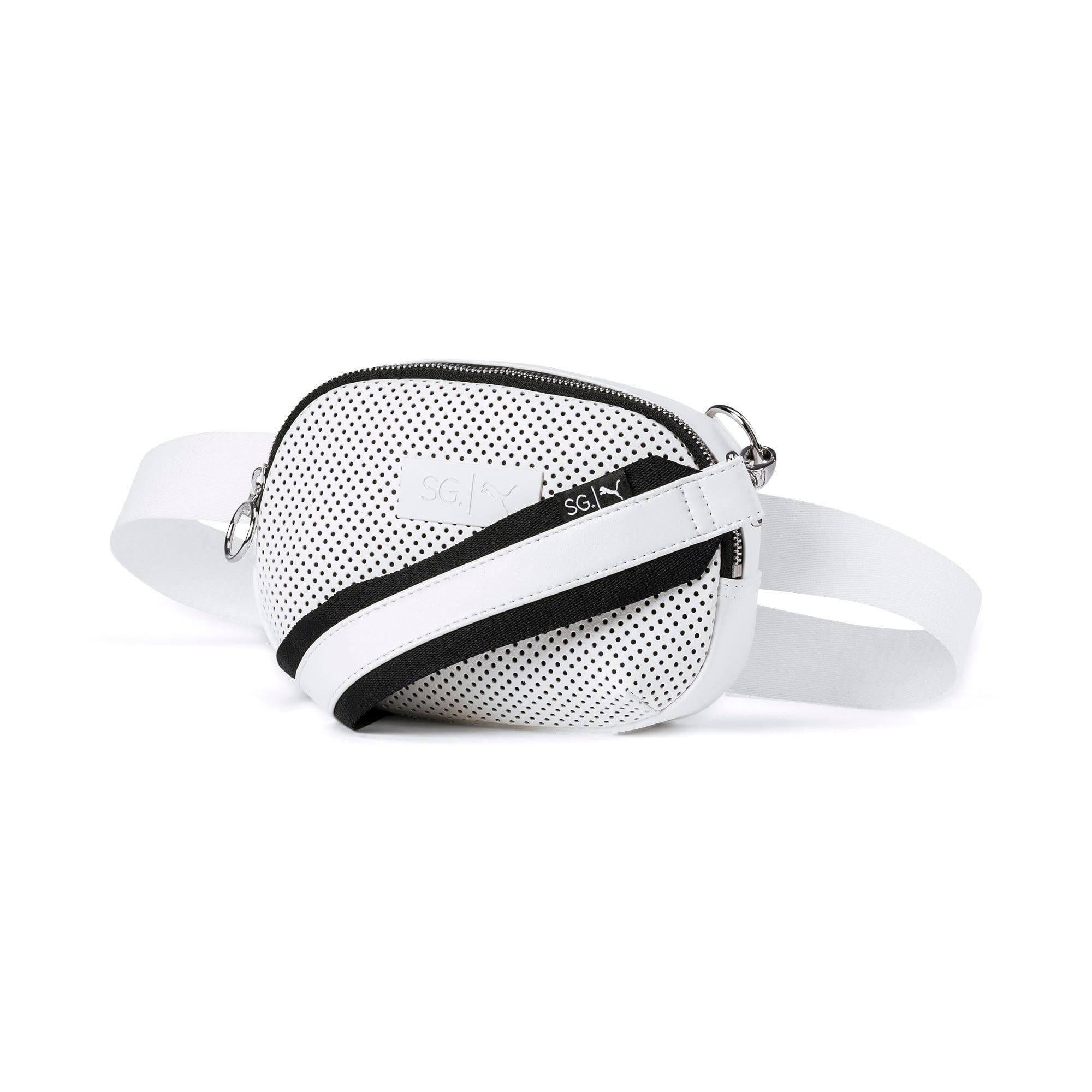 Thumbnail 1 of SG x PUMA Style Crossbody Bag, Puma White, medium