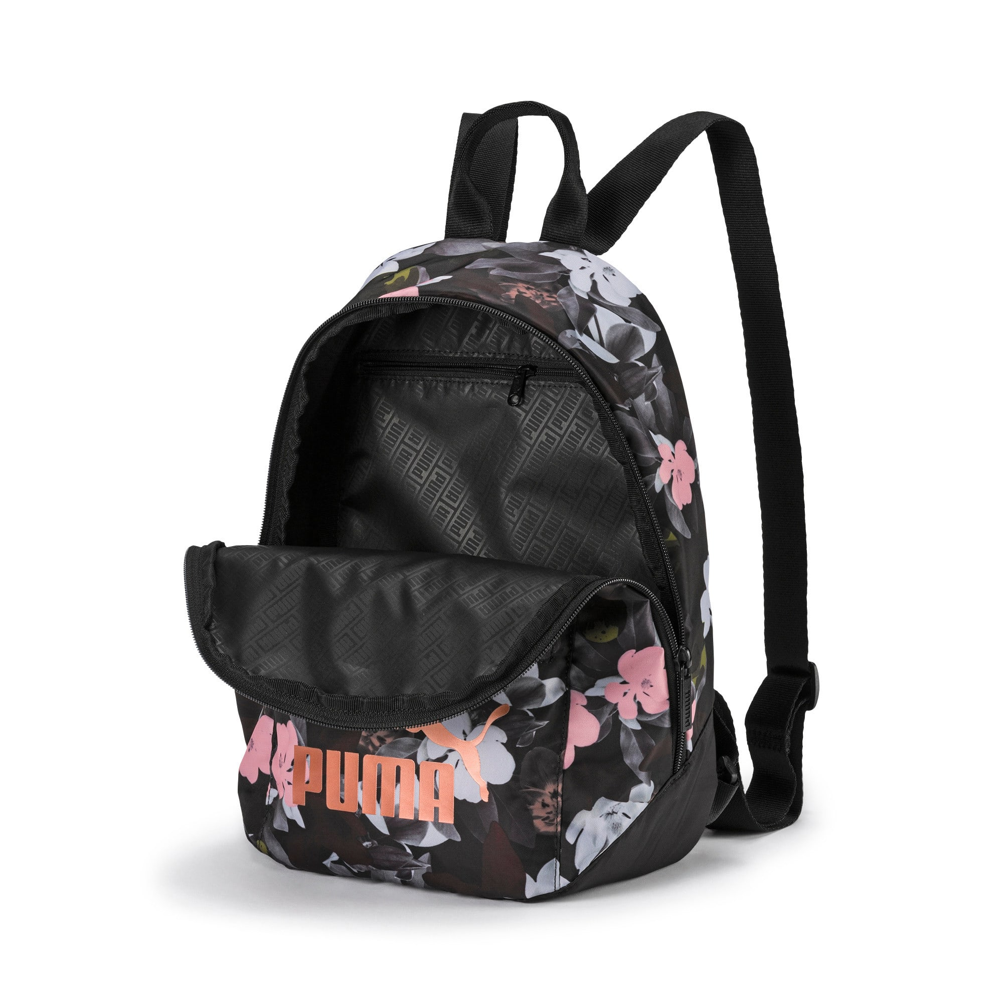 Thumbnail 4 of Archive Women's Backpack, Puma Black-Floral AOP, medium-IND