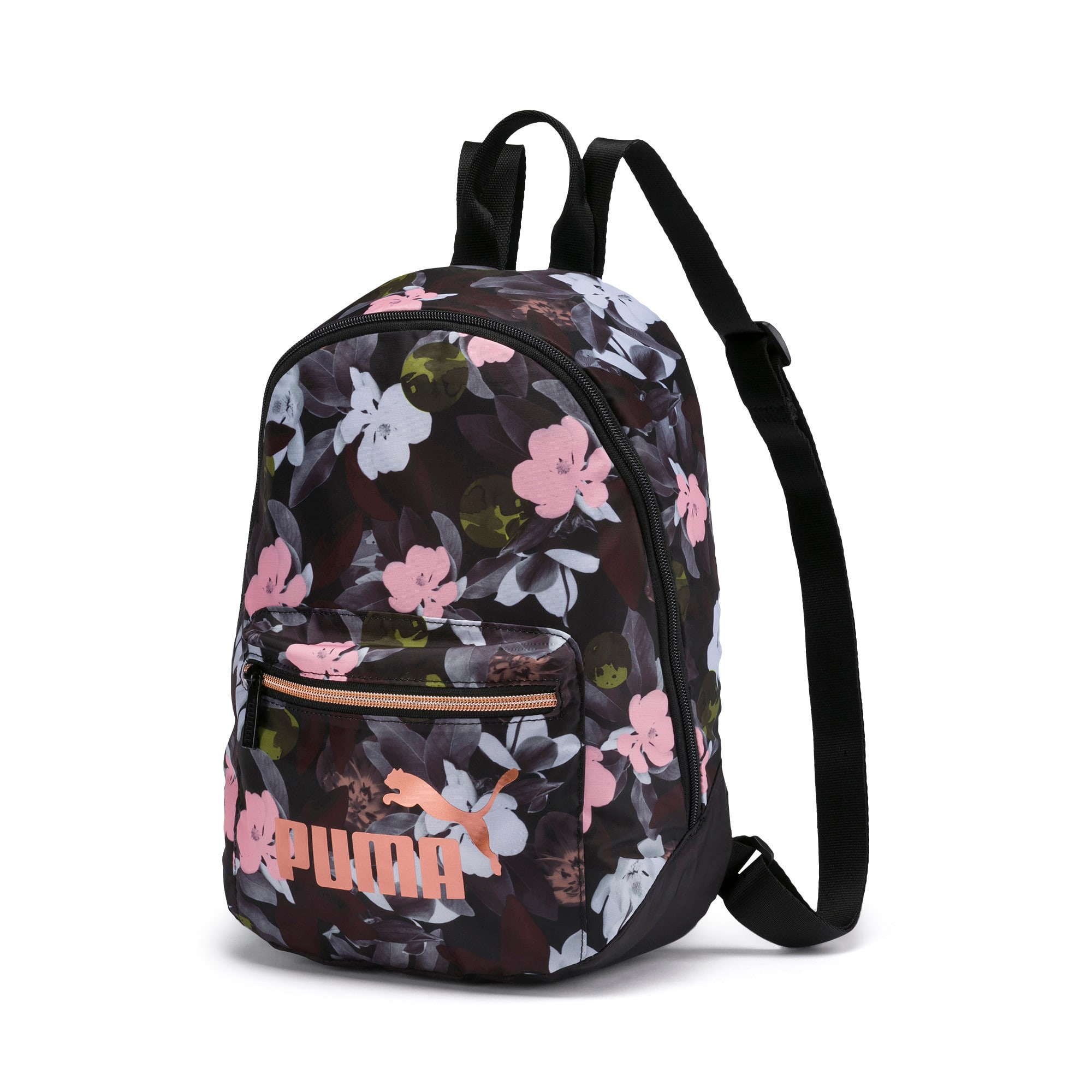 Thumbnail 1 of Archive Women's Backpack, Puma Black-Floral AOP, medium-IND
