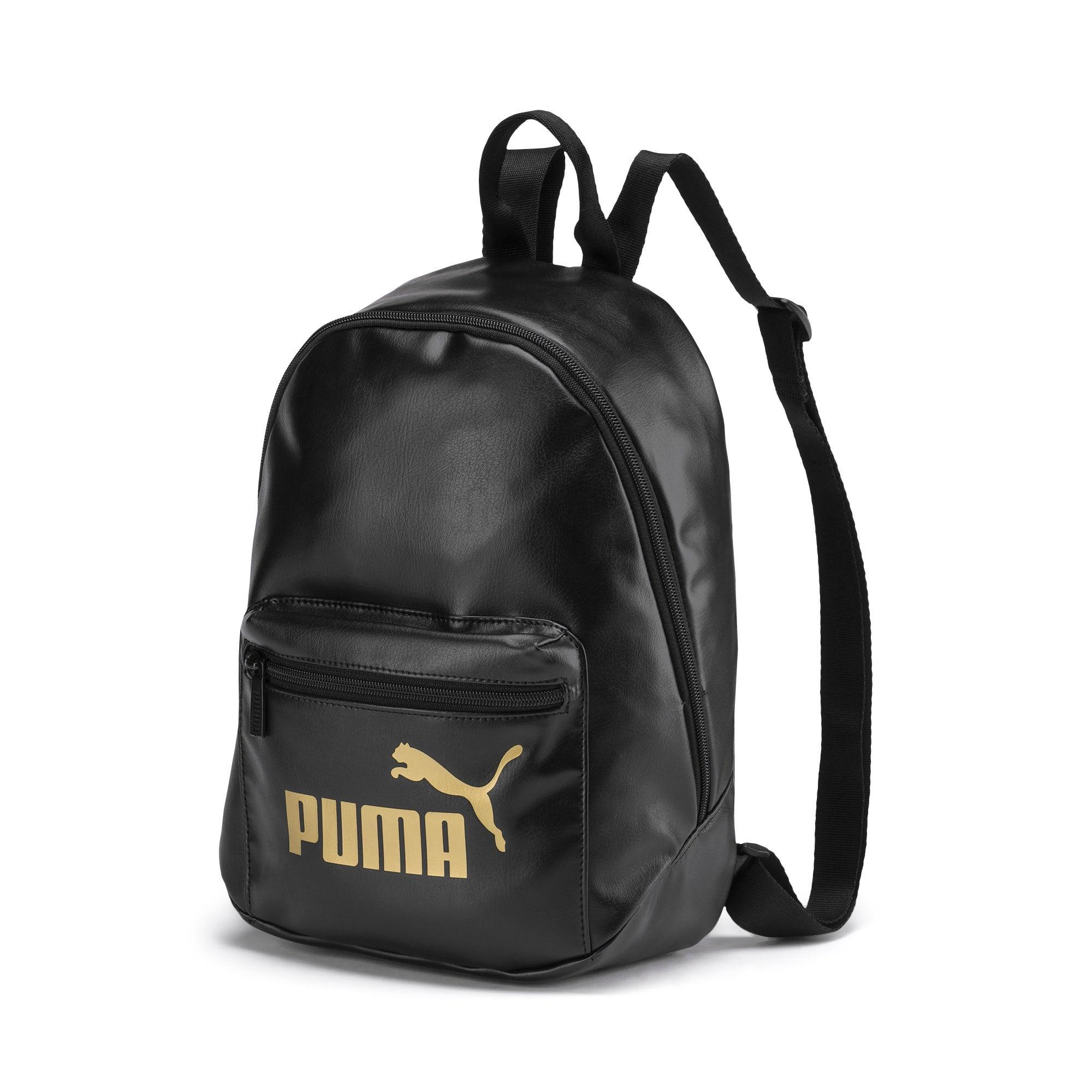 Thumbnail 1 of Up Women's Archive Backpack, Puma Black-Gold, medium
