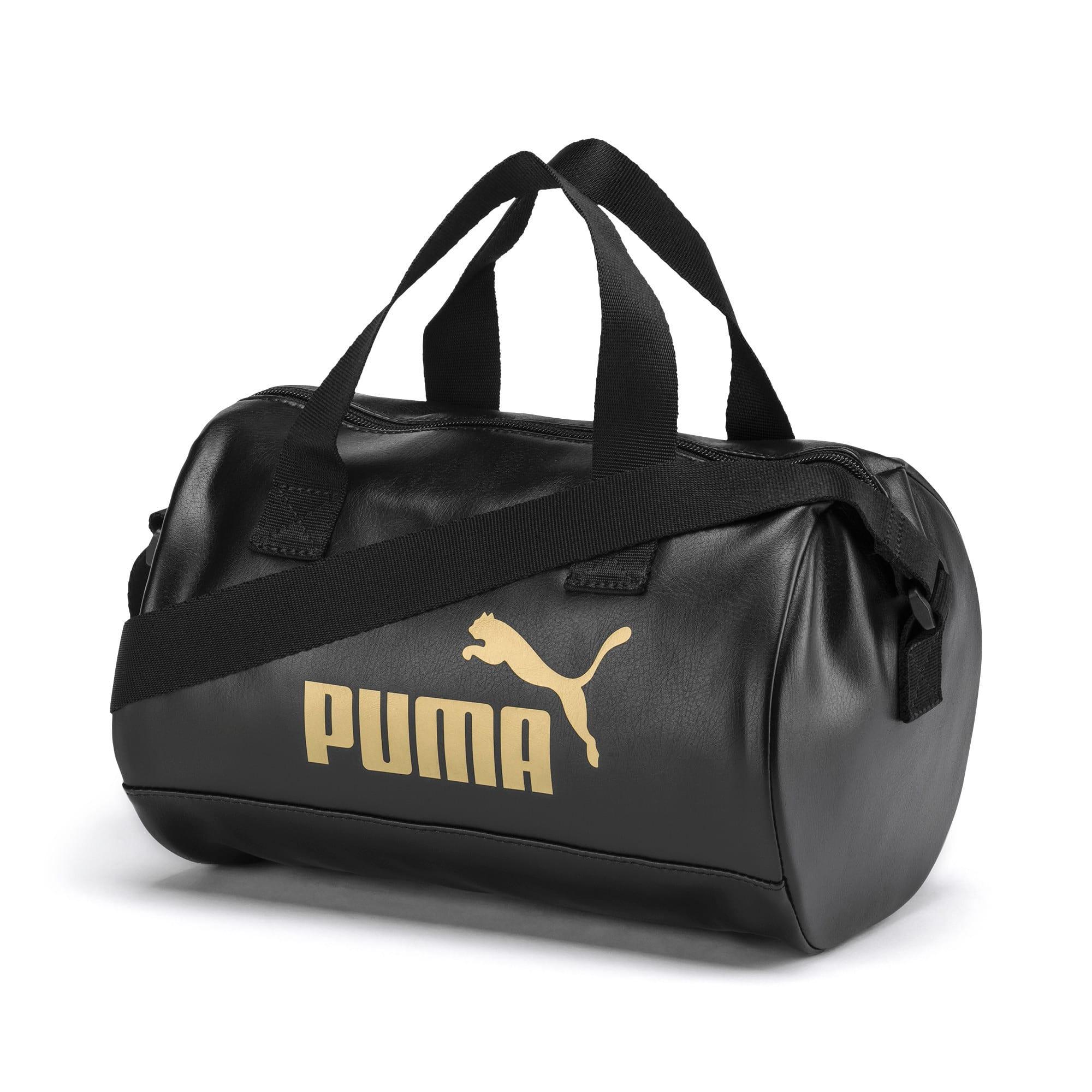 Thumbnail 1 of Up Women's Handbag, Puma Black-Gold, medium-IND