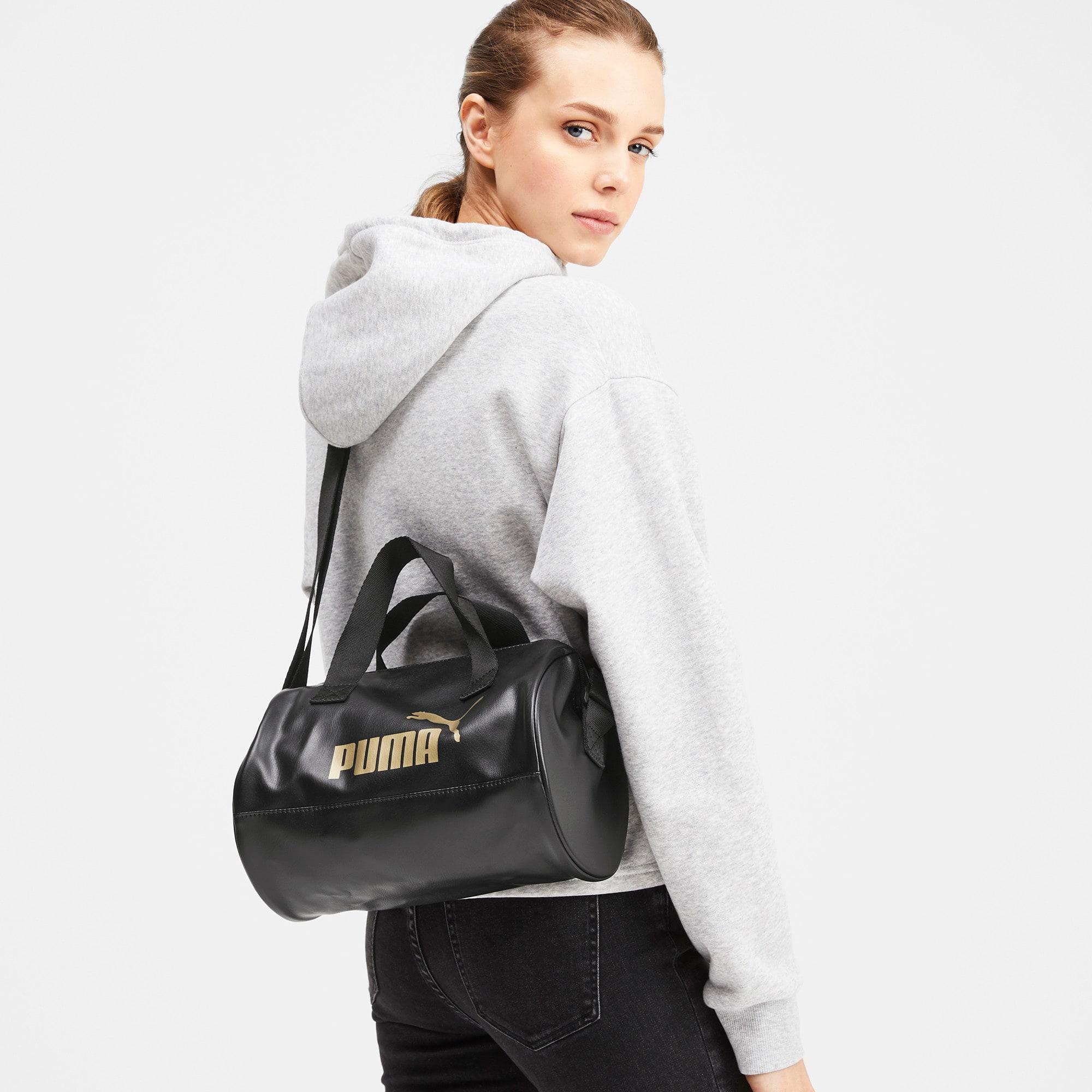 Thumbnail 2 of Up Women's Handbag, Puma Black-Gold, medium-IND
