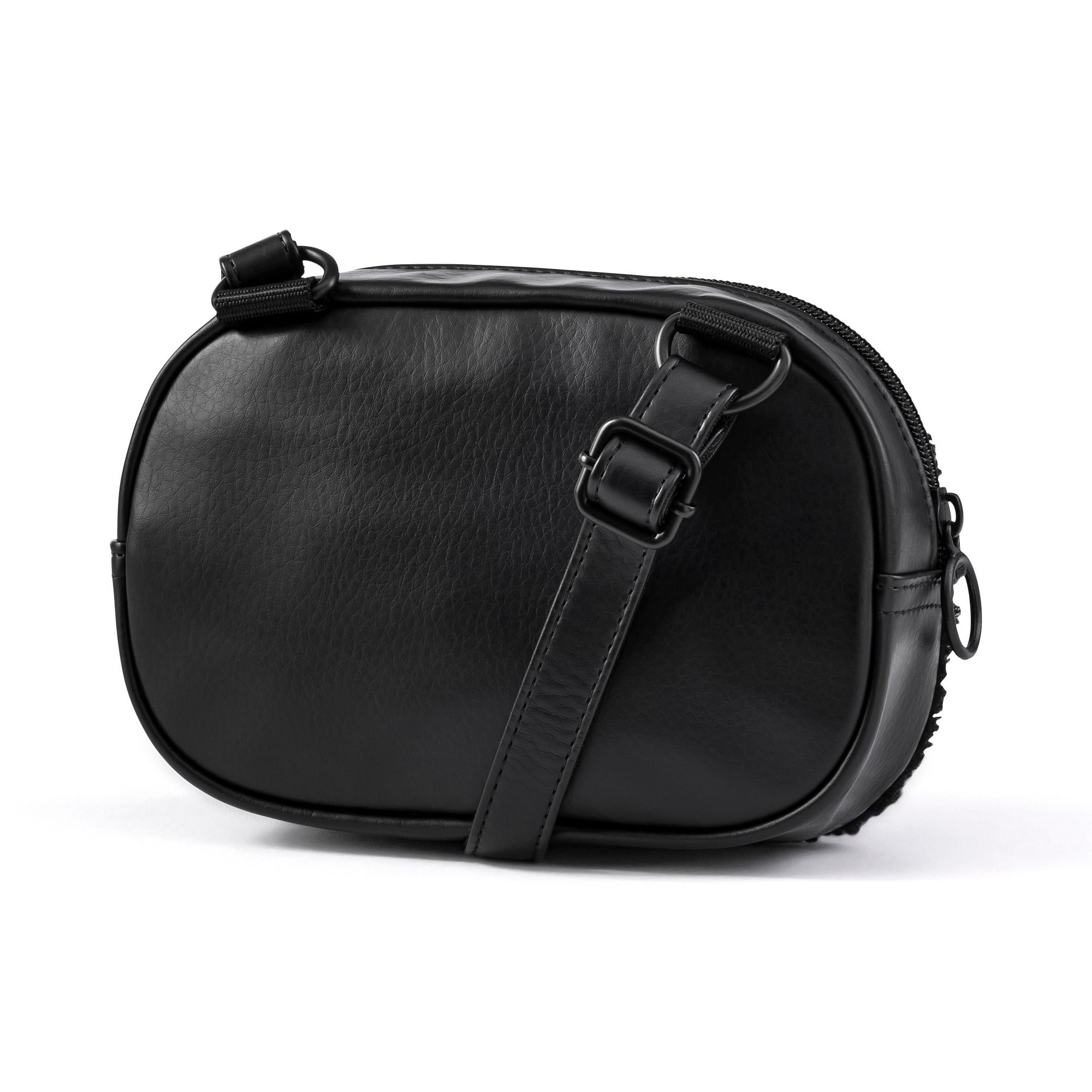 Thumbnail 3 of Prime Time Women's X-Body Bag, Puma Black-Puma Black, medium-IND