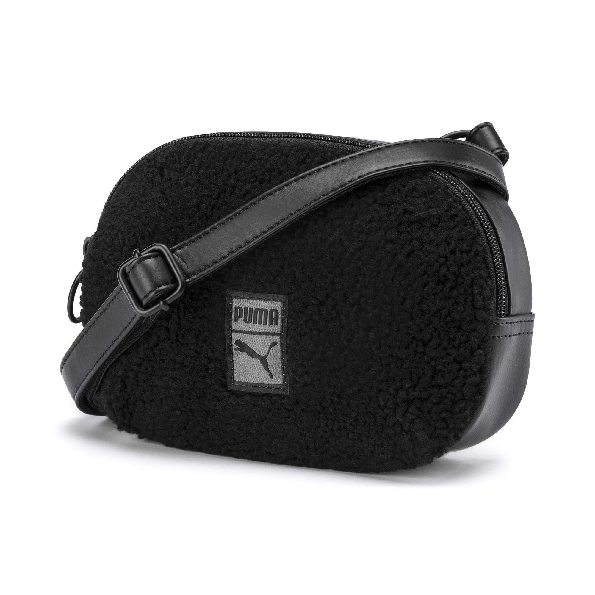 Thumbnail 1 of Prime Time Women's X-Body Bag, Puma Black-Puma Black, medium-IND