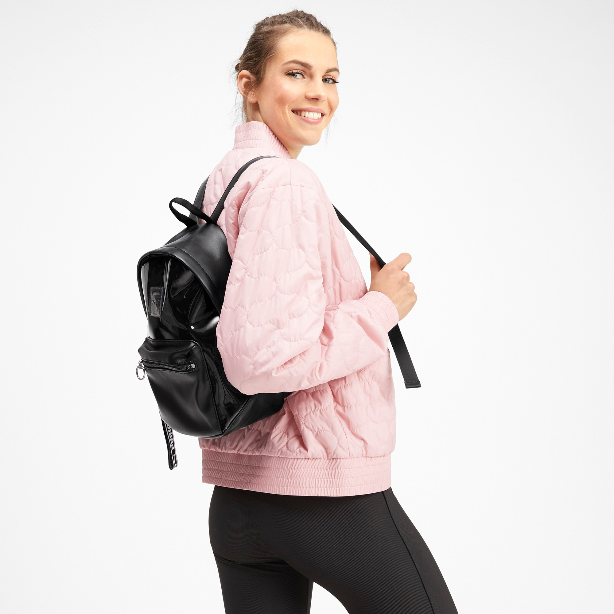 Thumbnail 2 of Premium Women's Backpack, Puma Black, medium-IND
