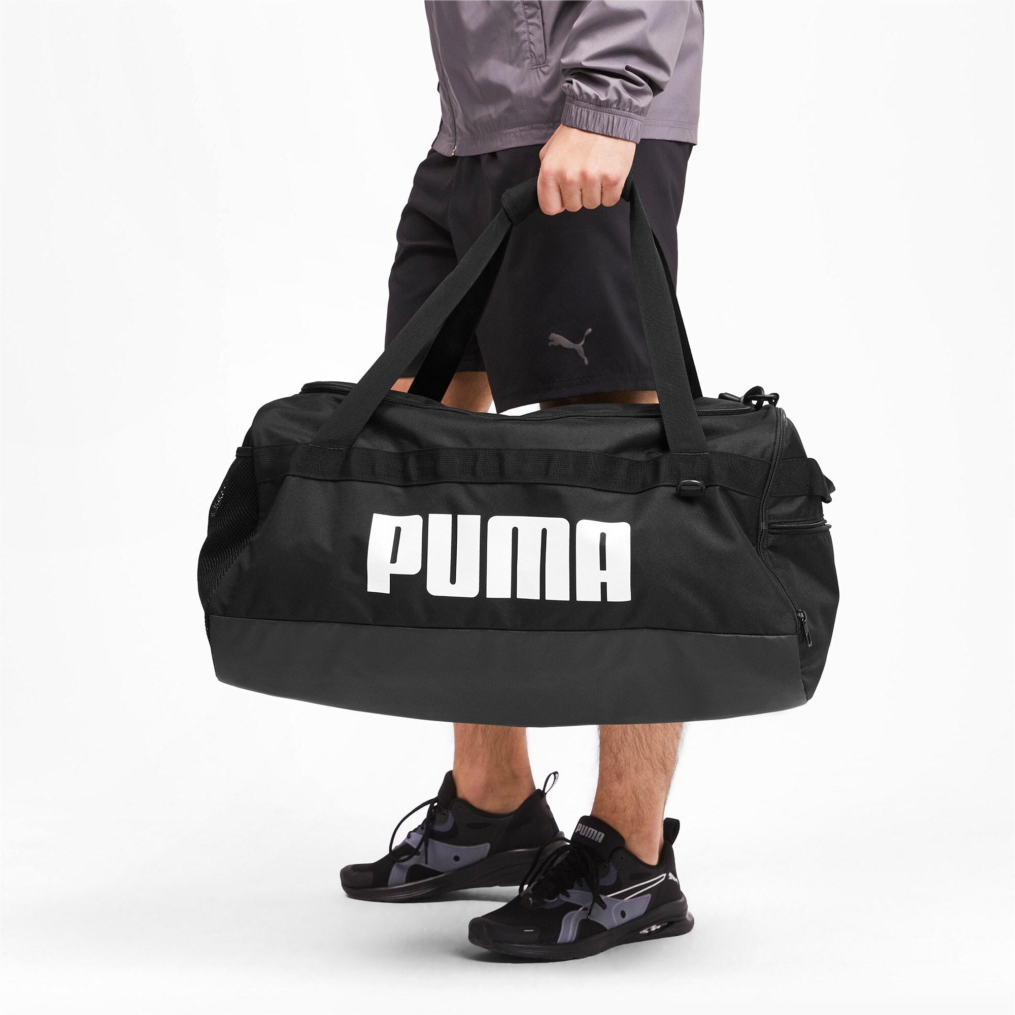Thumbnail 2 of PUMA Challenger Duffel Bag, Puma Black, medium