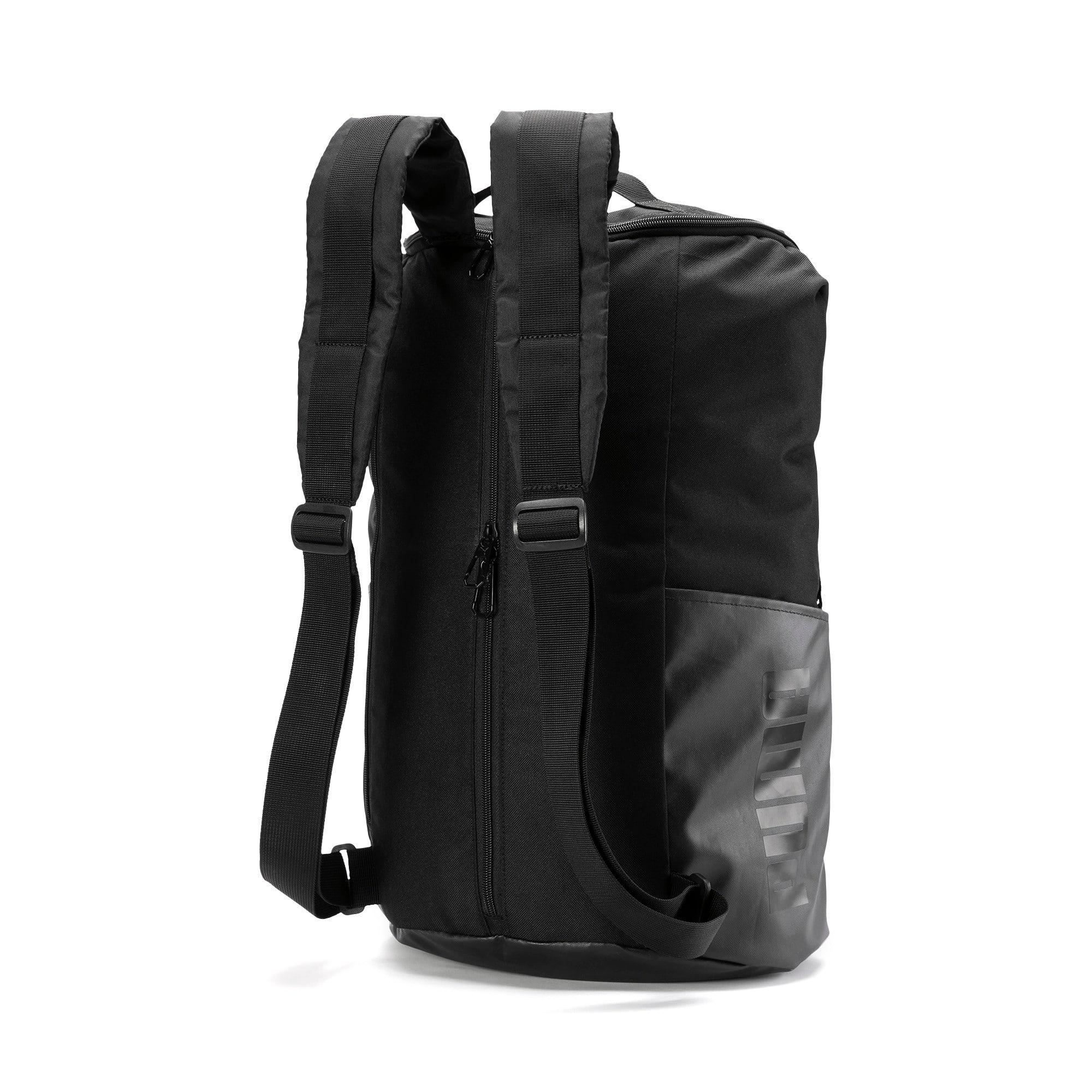 Thumbnail 3 of Training Transform Duffle Bag, Puma Black, medium-IND