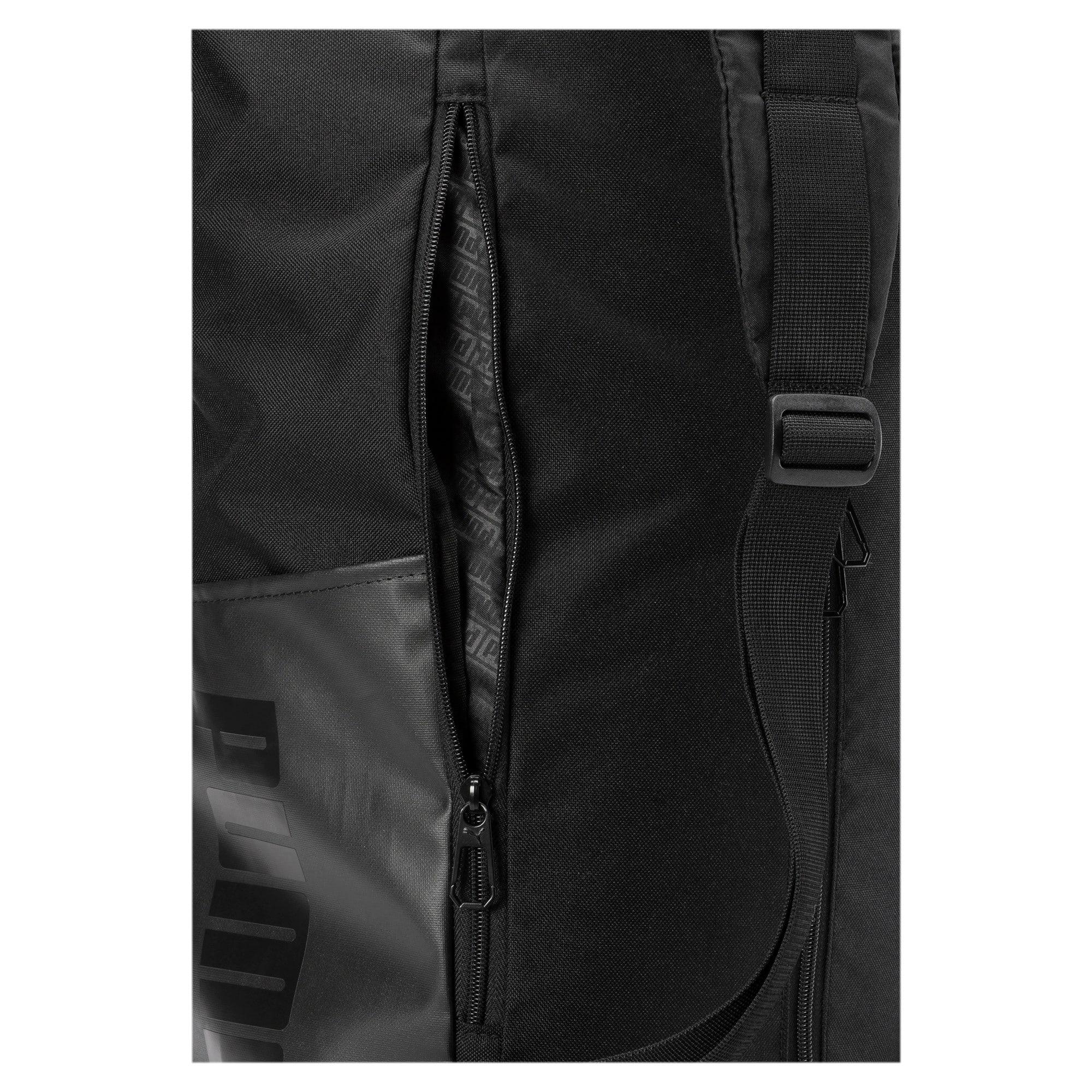 Thumbnail 4 of Training Transform Duffle Bag, Puma Black, medium-IND