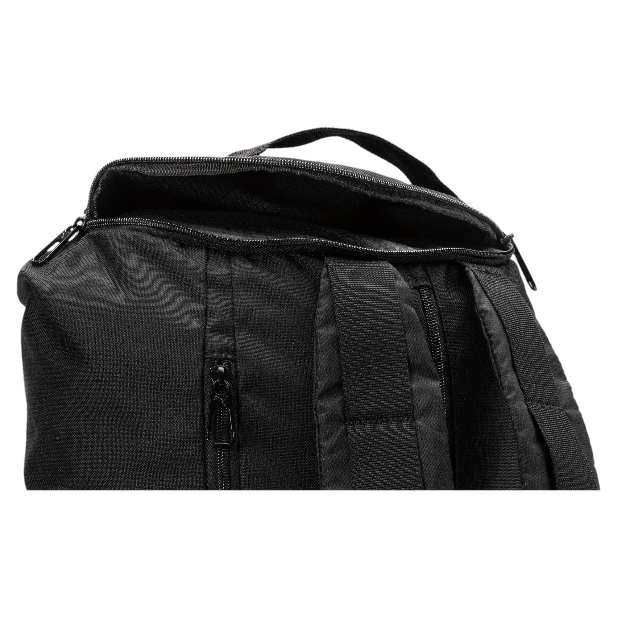 Thumbnail 5 of Training Transform Duffle Bag, Puma Black, medium-IND