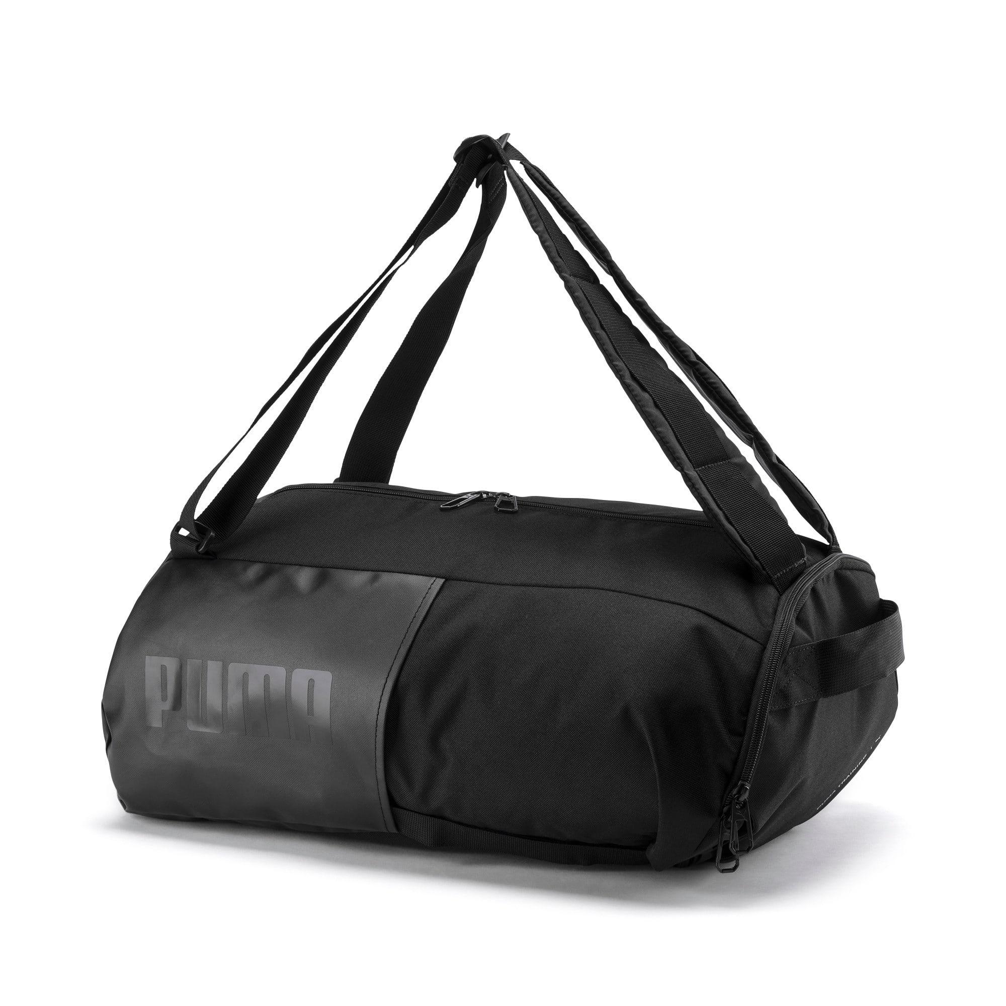 Thumbnail 7 of Training Transform Duffle Bag, Puma Black, medium-IND
