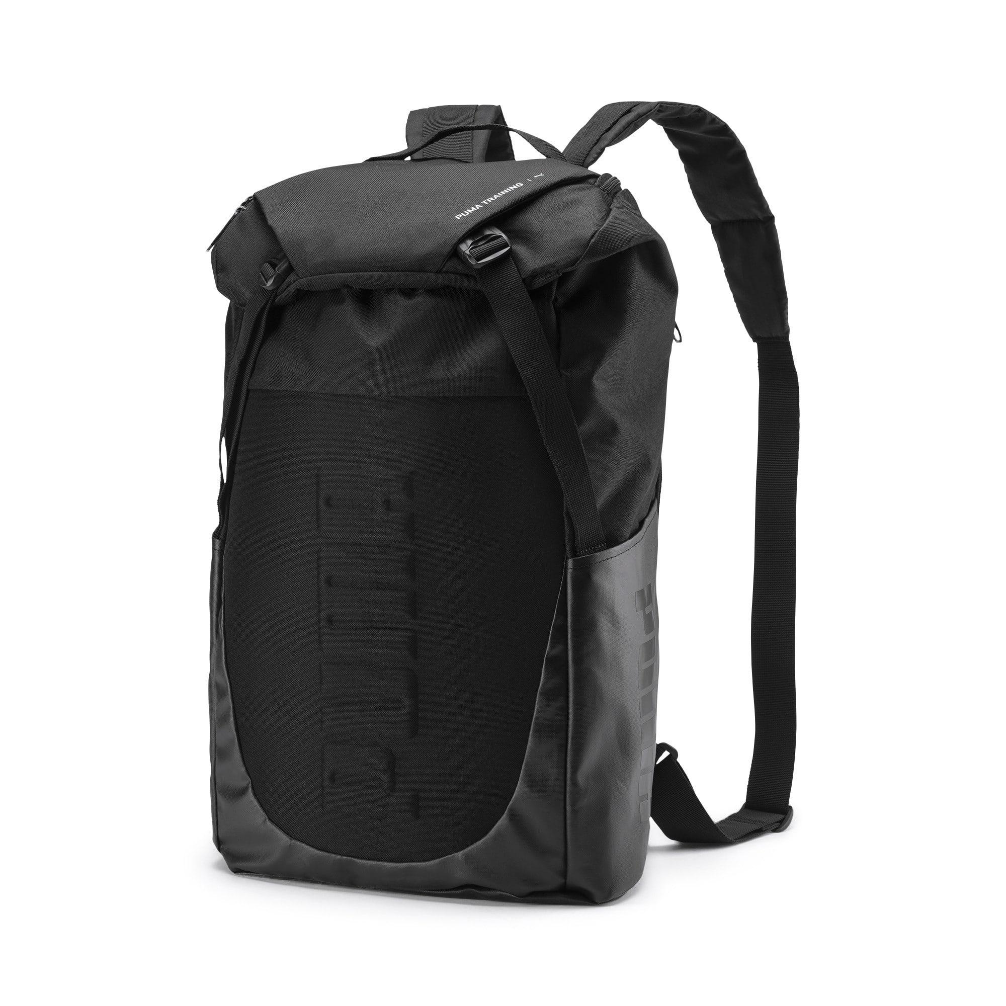 Thumbnail 1 of Training Transform Duffle Bag, Puma Black, medium-IND