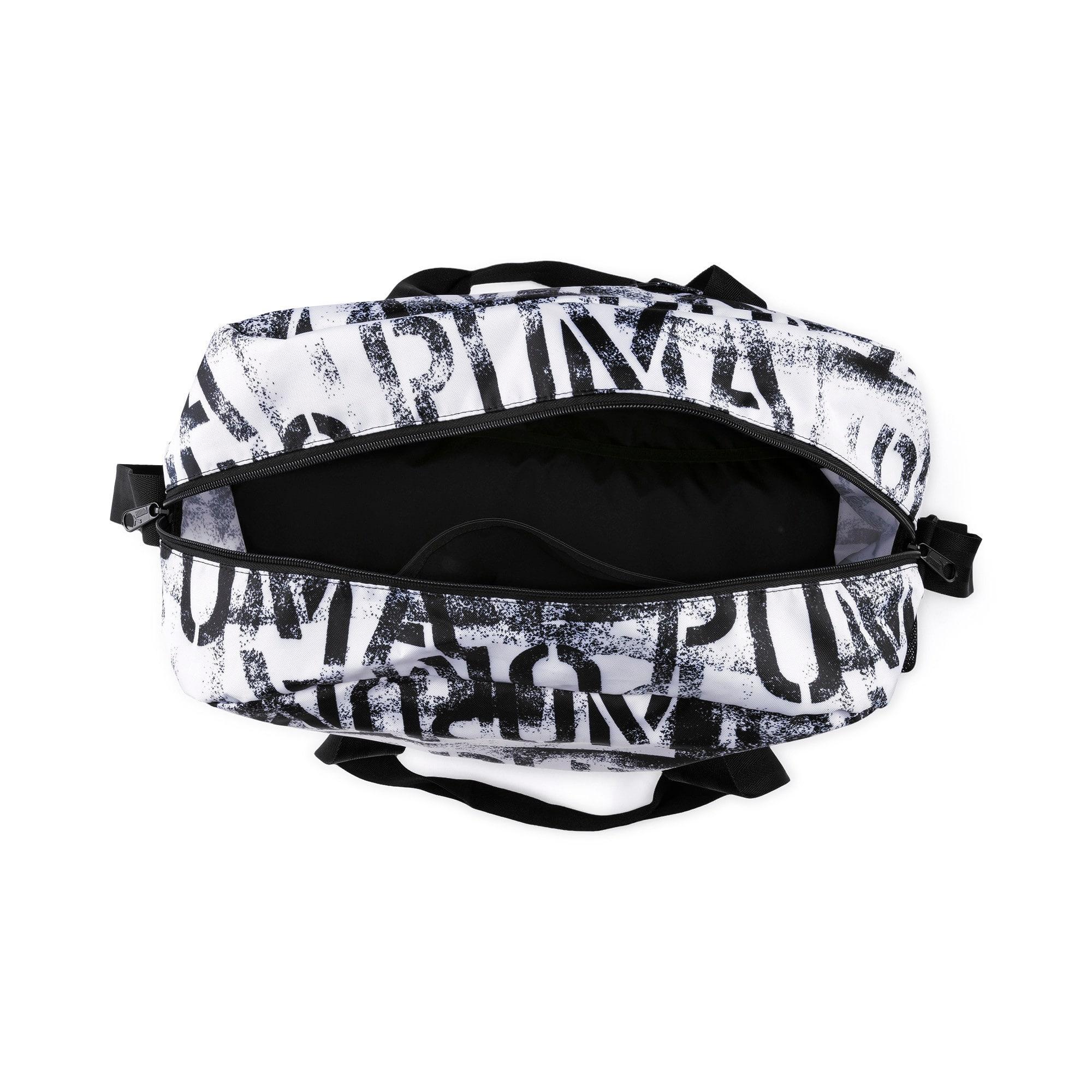 Thumbnail 4 of AT ESS Grip Bag, Puma White-Puma Black-AOP, medium