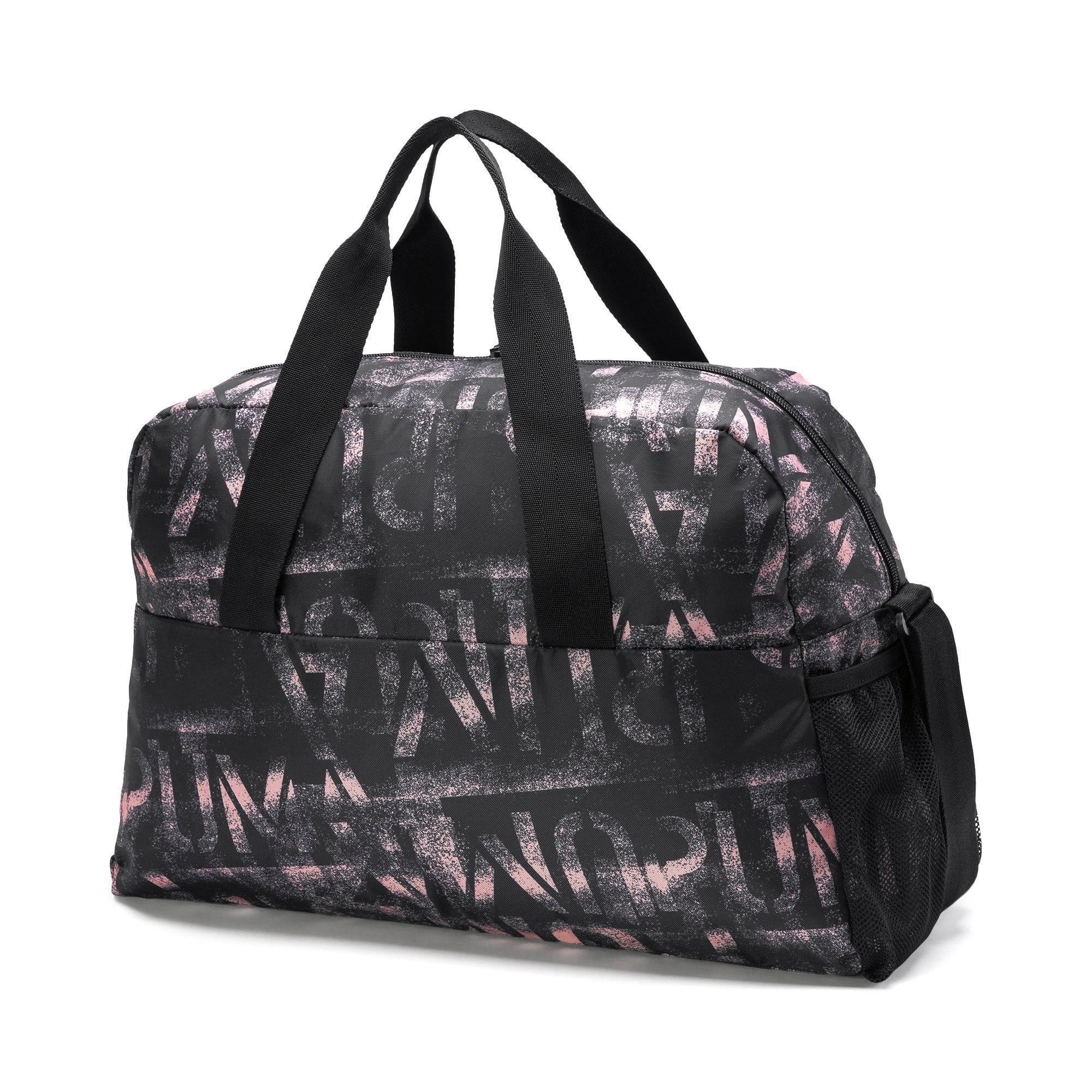 Thumbnail 3 of AT ESS Grip Bag, Puma Black-Bridal Rose-AOP, medium