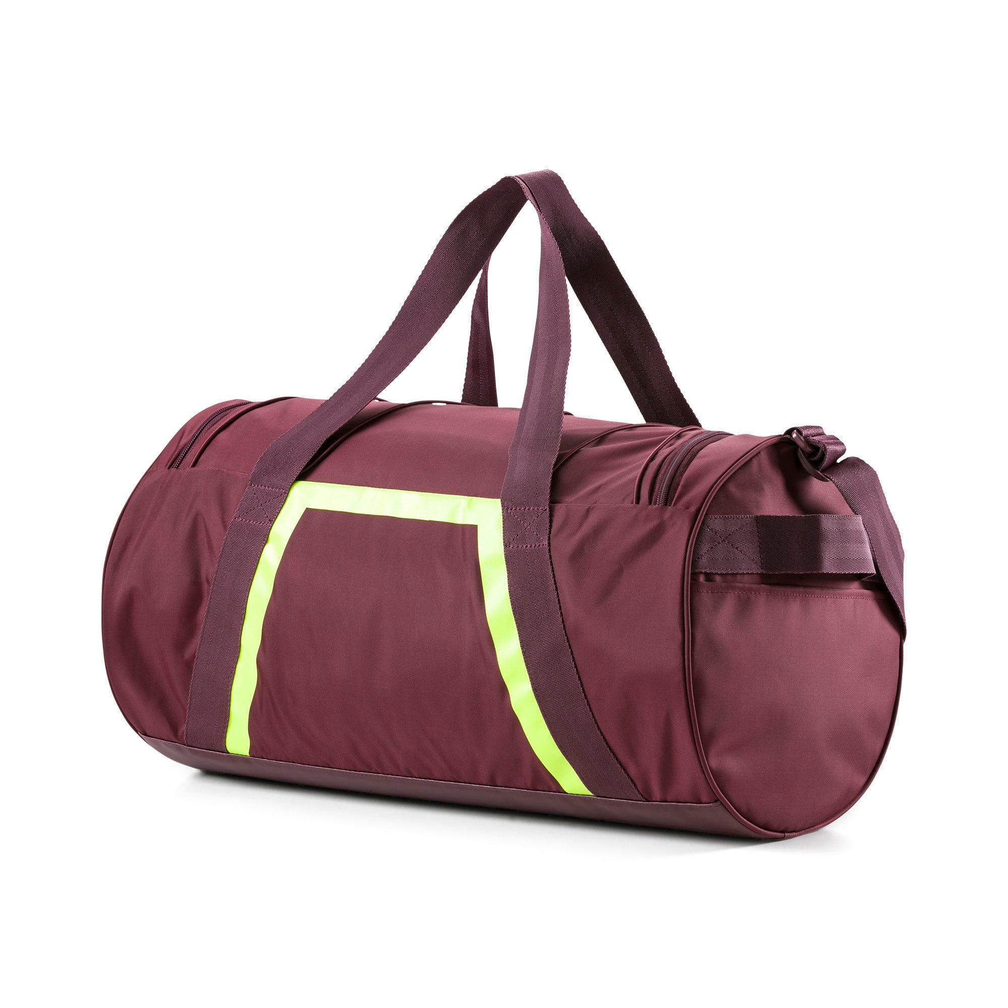 Thumbnail 3 of Active Training Shift Women's Duffel Bag, Vineyard Wine-Yellow Alert, medium-IND