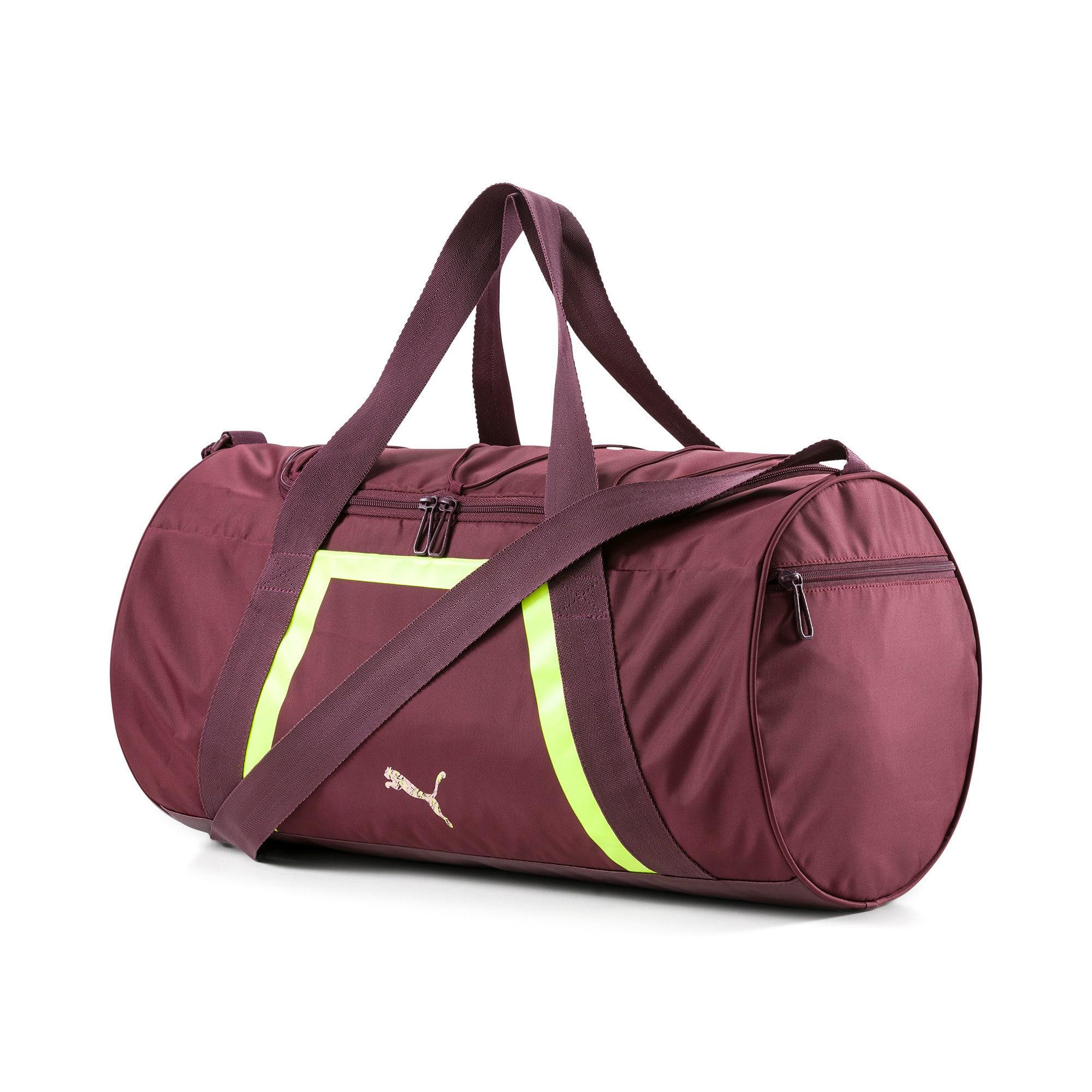 Thumbnail 1 of Active Training Shift Women's Duffel Bag, Vineyard Wine-Yellow Alert, medium-IND
