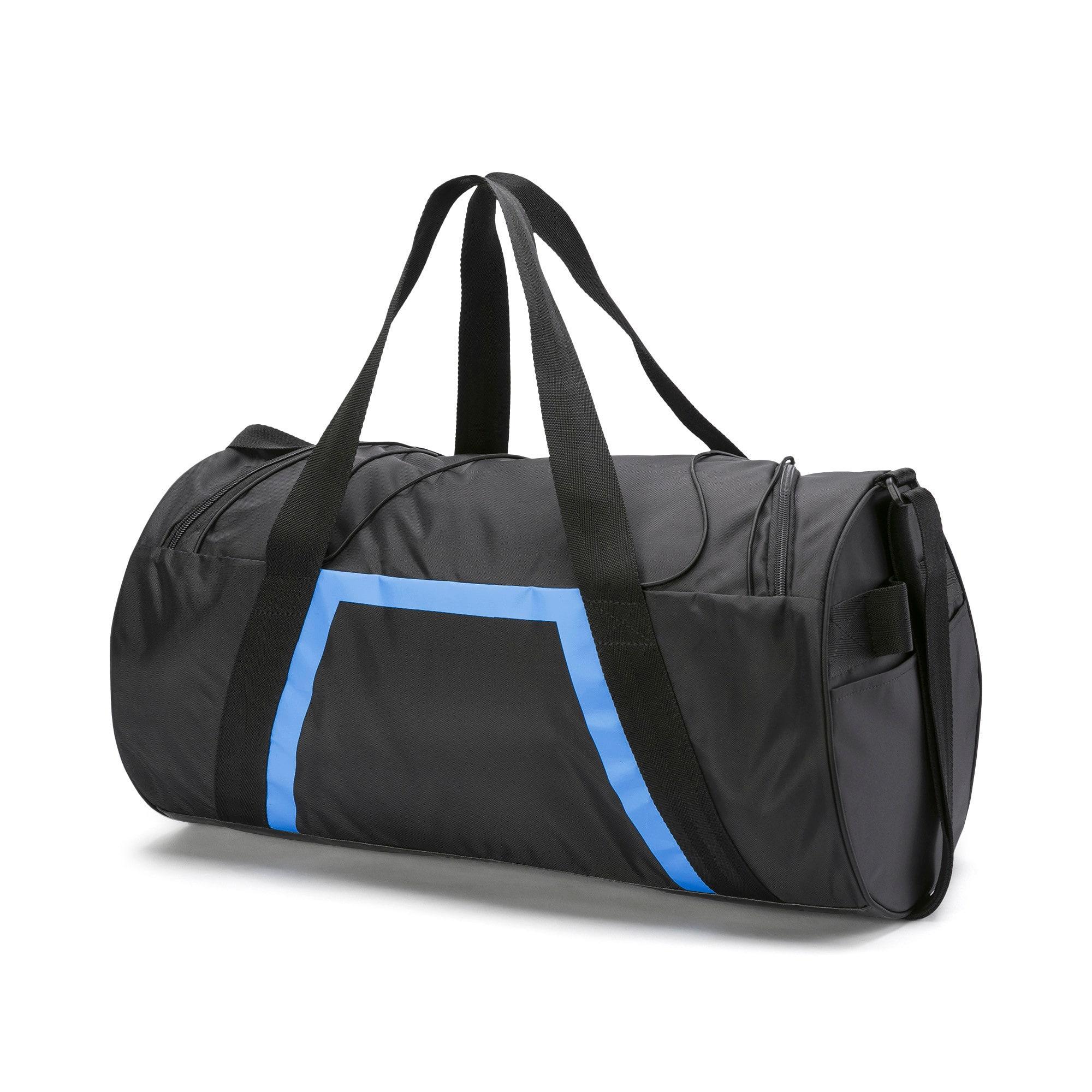 Thumbnail 3 of AT Shift Duffel Bag, Puma Black-Blue Glimmer, medium