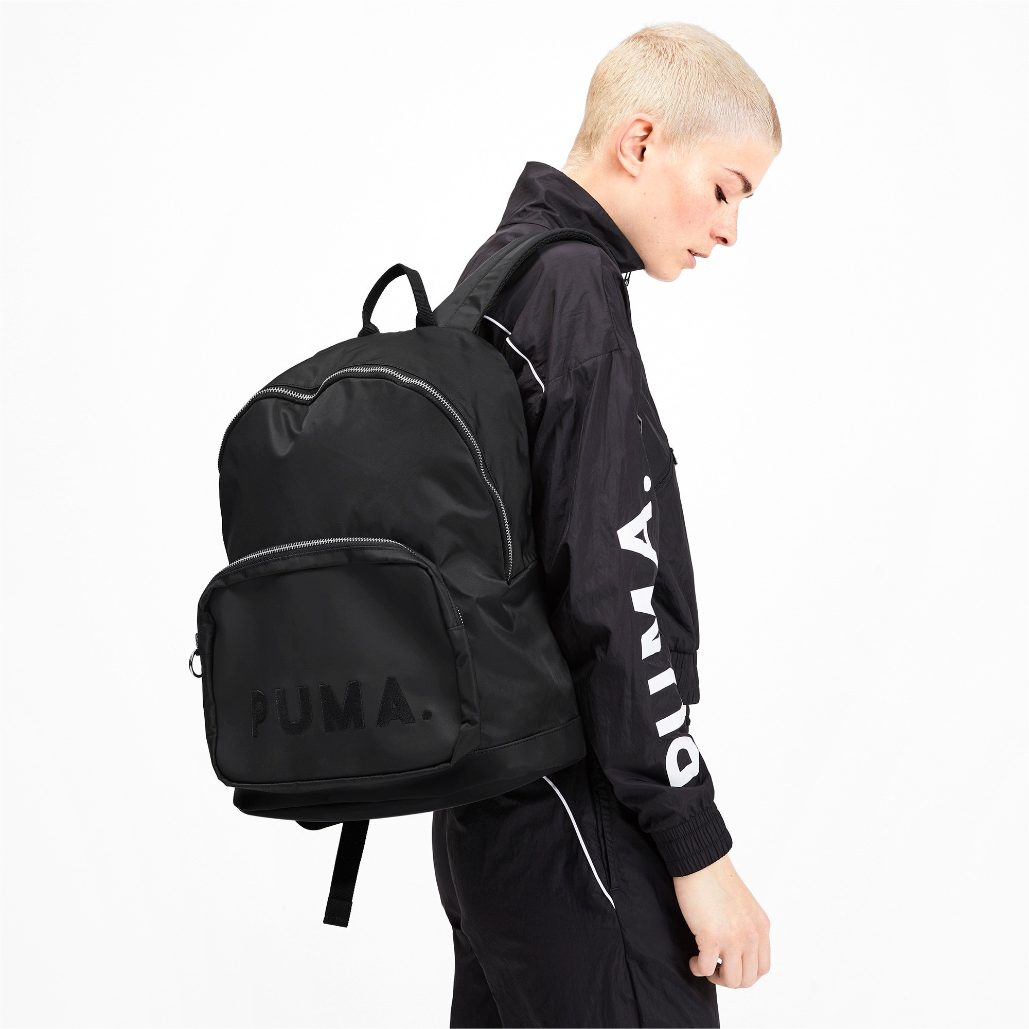 Thumbnail 2 of Originals Trend Backpack, Puma Black, medium