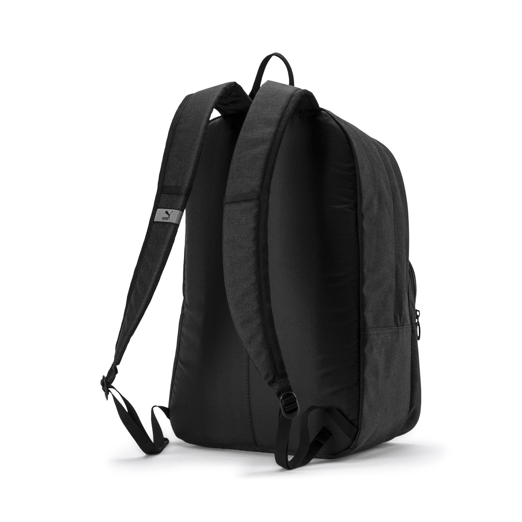 Thumbnail 3 of Originals Retro Woven Backpack, Puma Black, medium