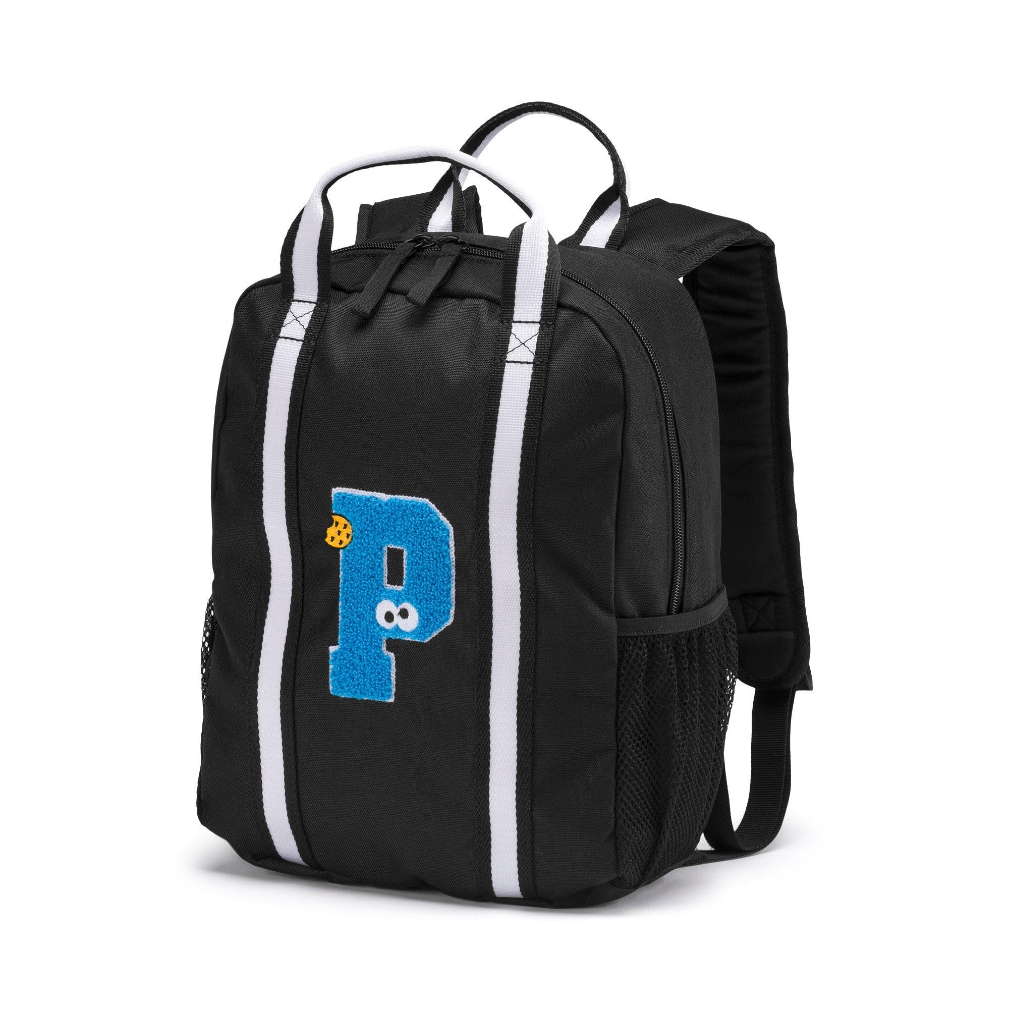 Thumbnail 1 of Sesame Street Kids' Backpack, Puma Black, medium-IND
