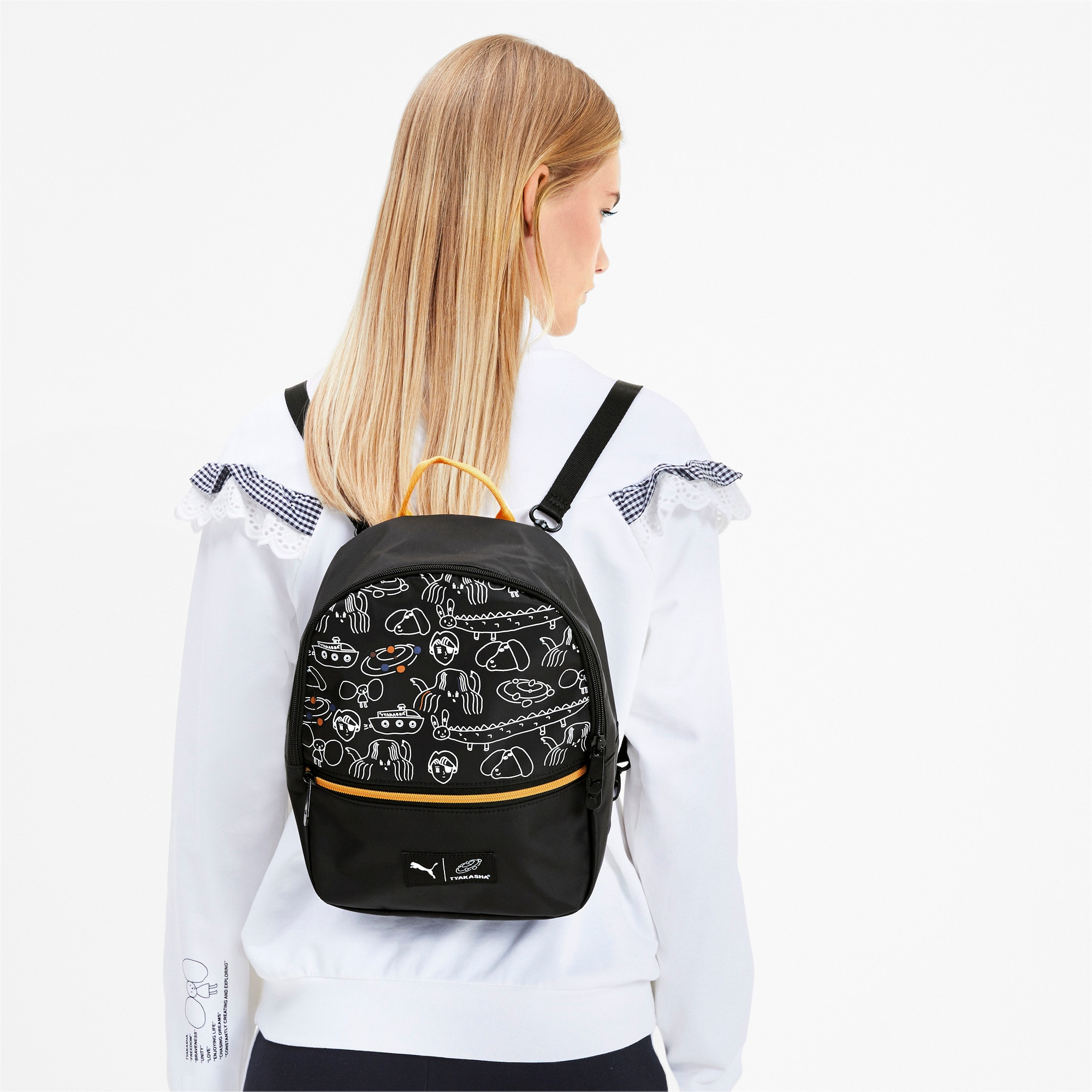 Thumbnail 2 of PUMA x TYAKASHA Backpack, Puma Black, medium
