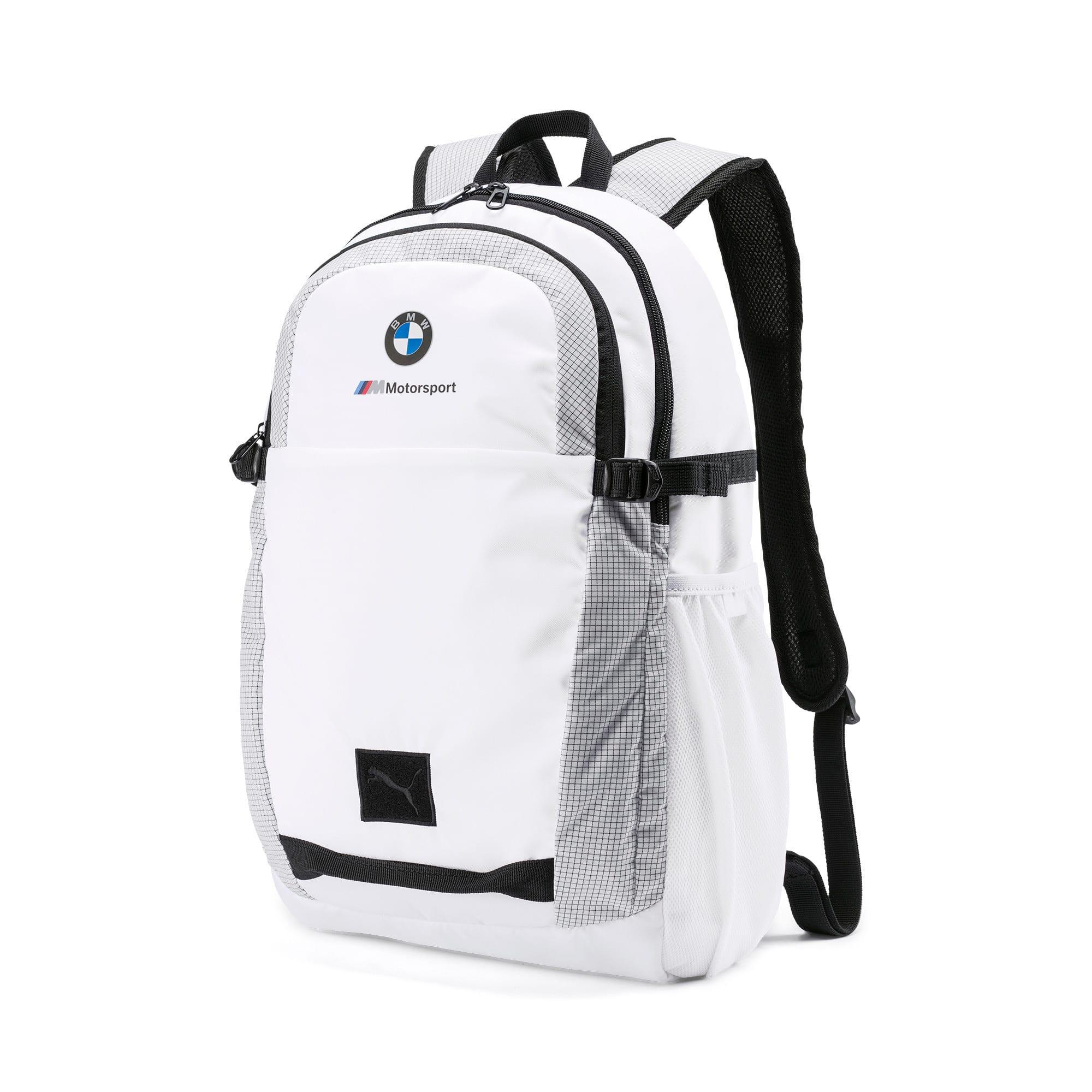 Thumbnail 1 of BMW M Motorsport Backpack, Puma White, medium