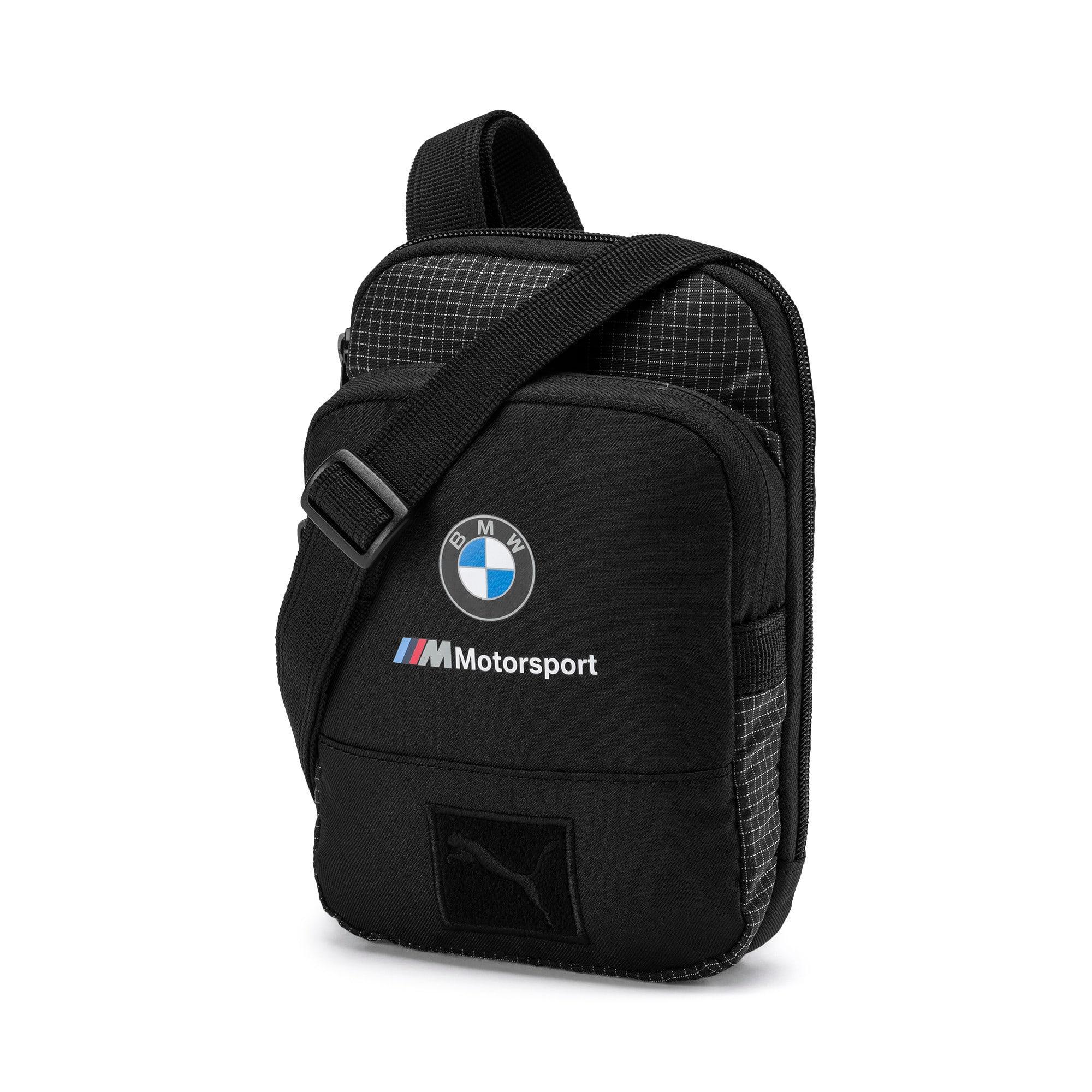 Thumbnail 1 of BMW M Motorsport Small Portable Bag, Puma Black, medium